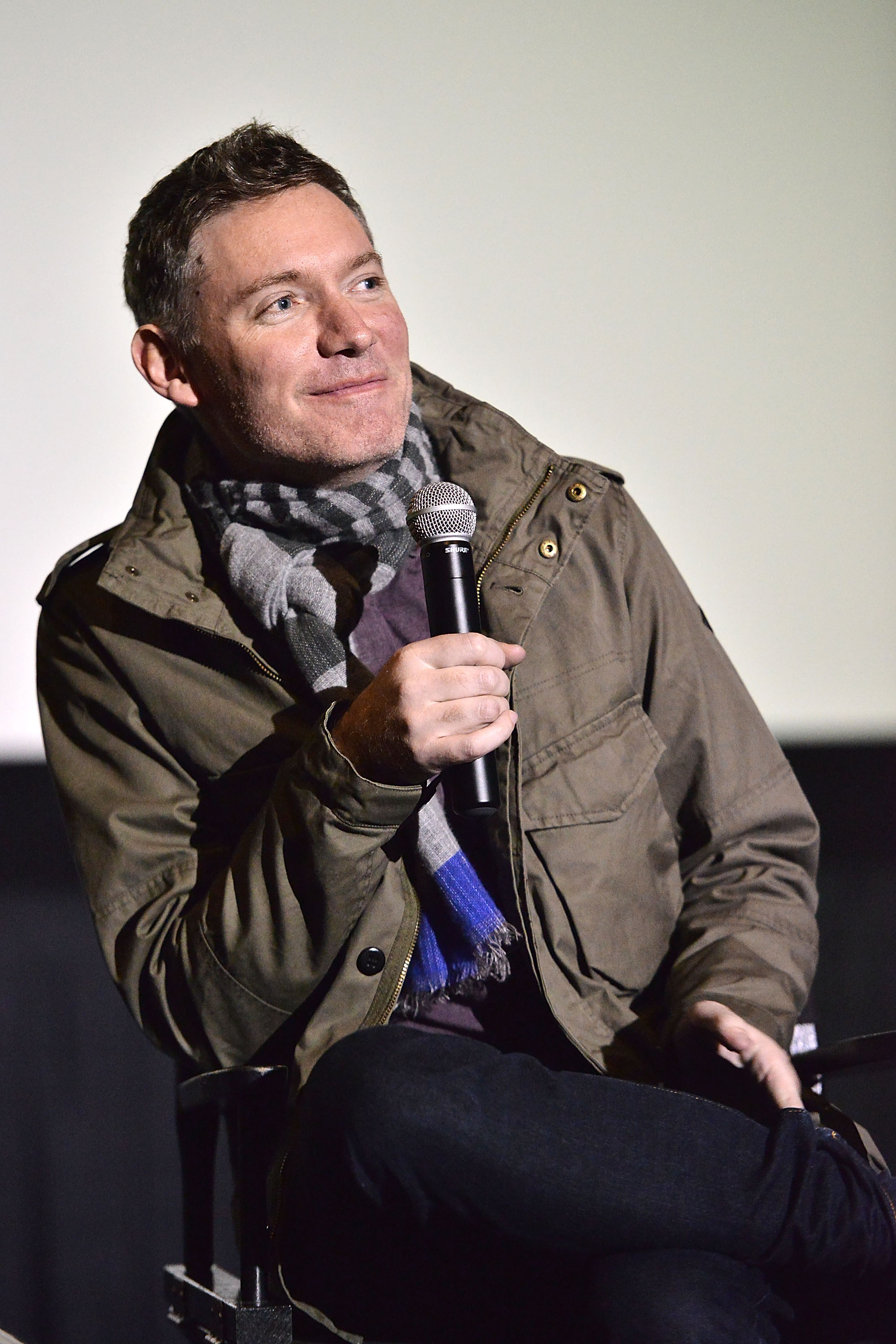 Kevin Macdonald attends the Film Independent screening of  Black Sea  on December 2, 2014 in Hollywood, California.