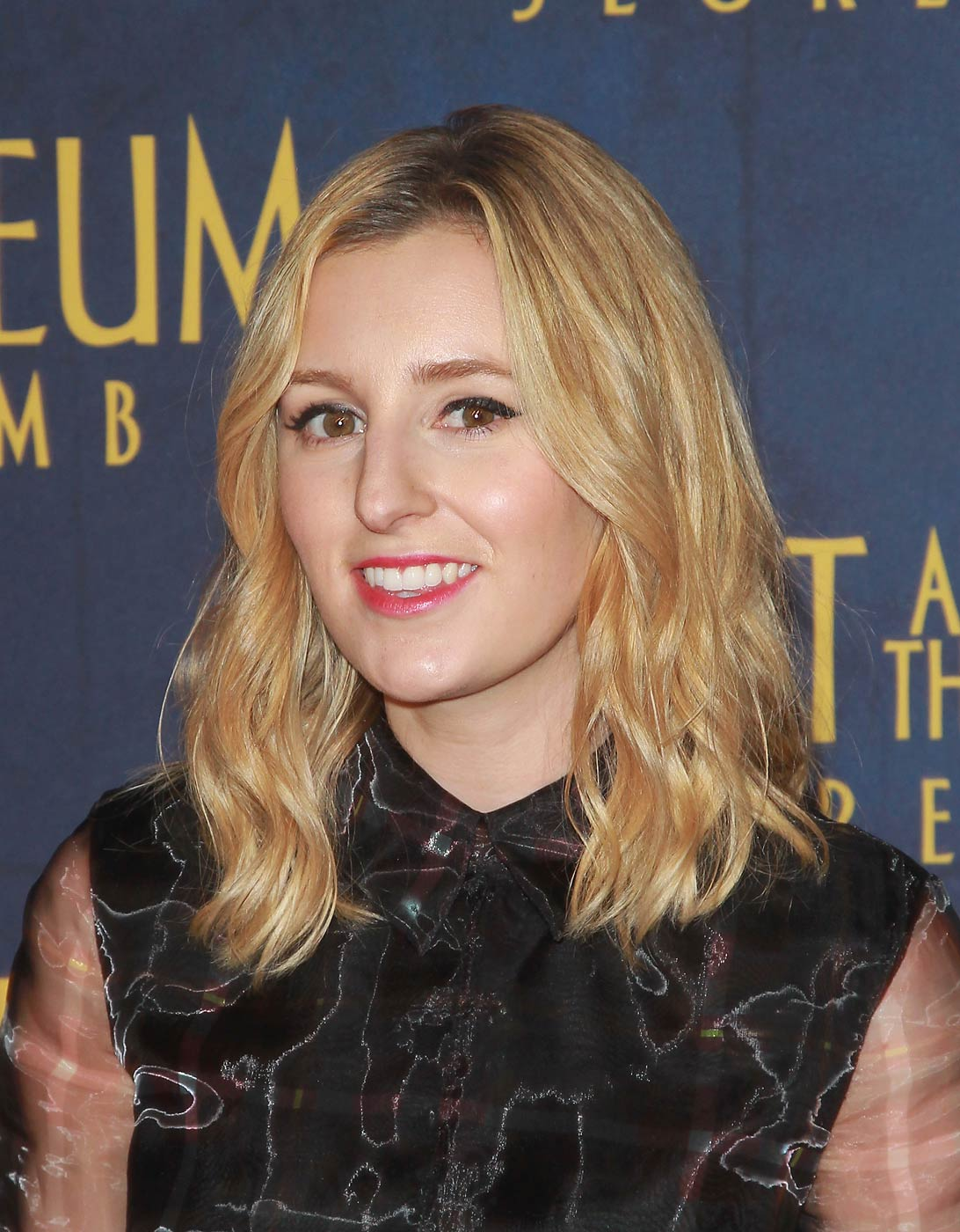 Laura Carmichael attends the Night At The Museum: Secret Of The Tomb New York premiere at the Ziegfeld Theater on December 11, 2014 in New York City.