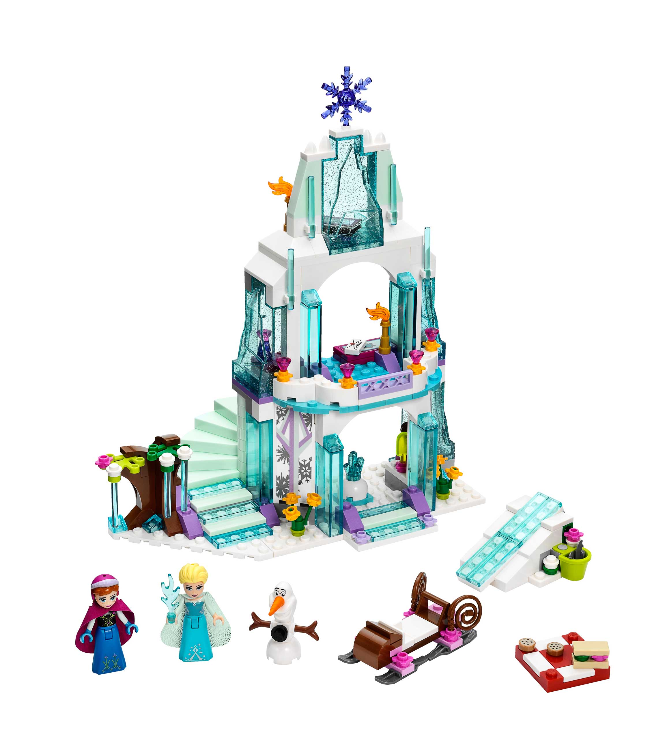 Frozen toy castle