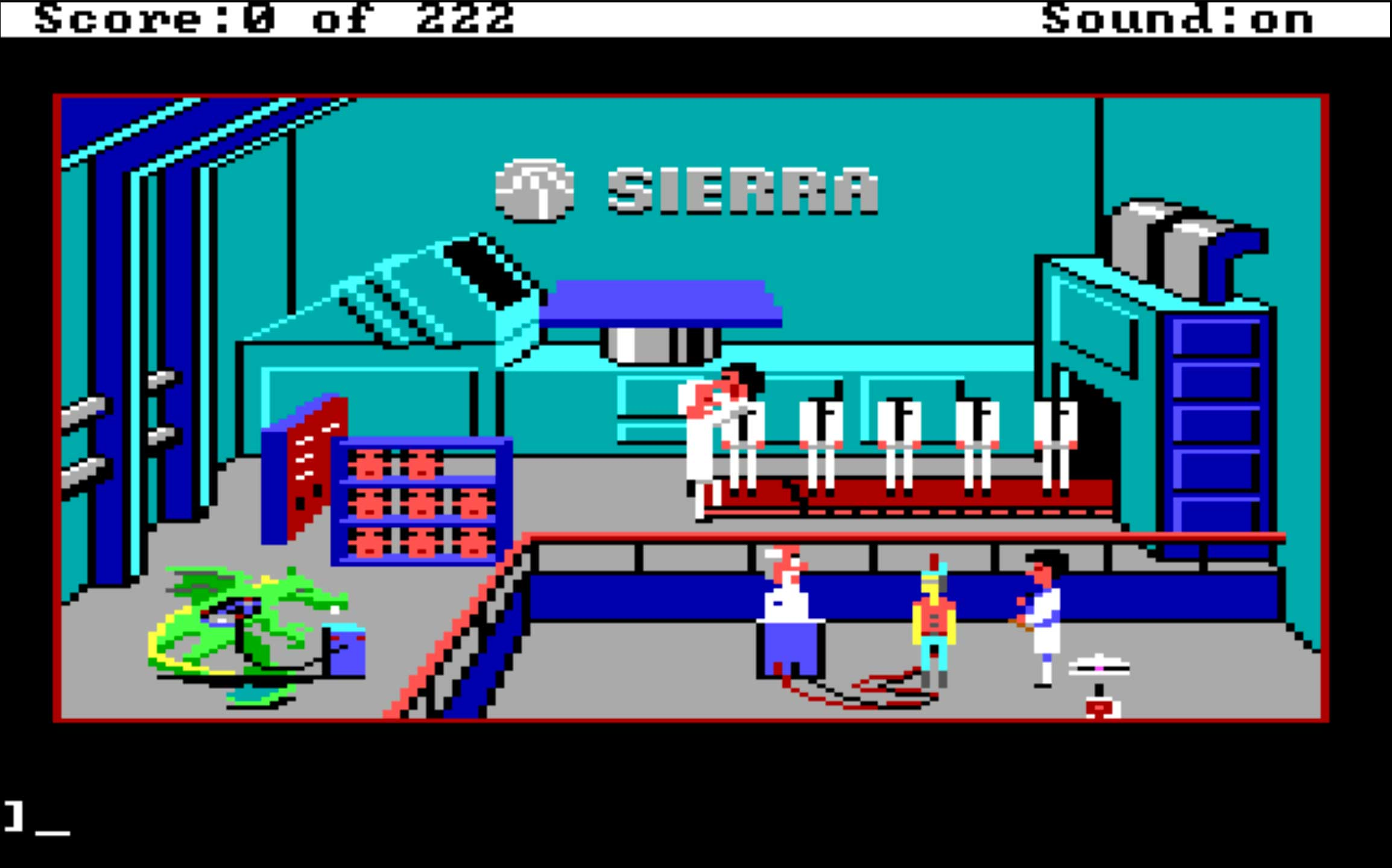 Leisure Suit Larry 1 - Land of the Lounge Lizards (1987)                                                               Tame by today's standards, this 8-bit, adult-oriented title was the Grand Theft Auto of its time, following the exploits of Larry Laffer as he strolls the city of Lost Wages, looking for love.