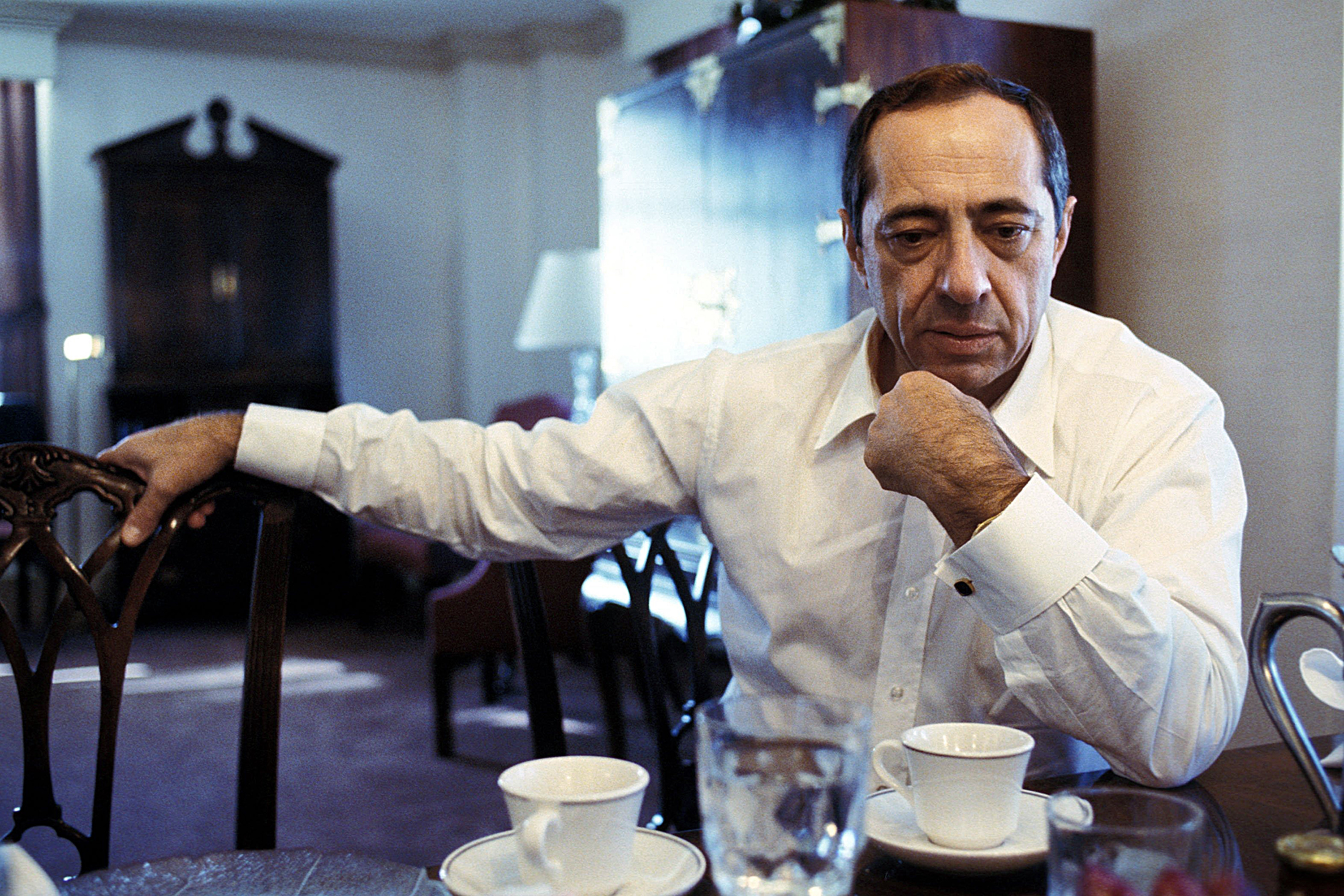 Mario Cuomo, who died Jan. 1 at 82, at a New York hotel in 1986.