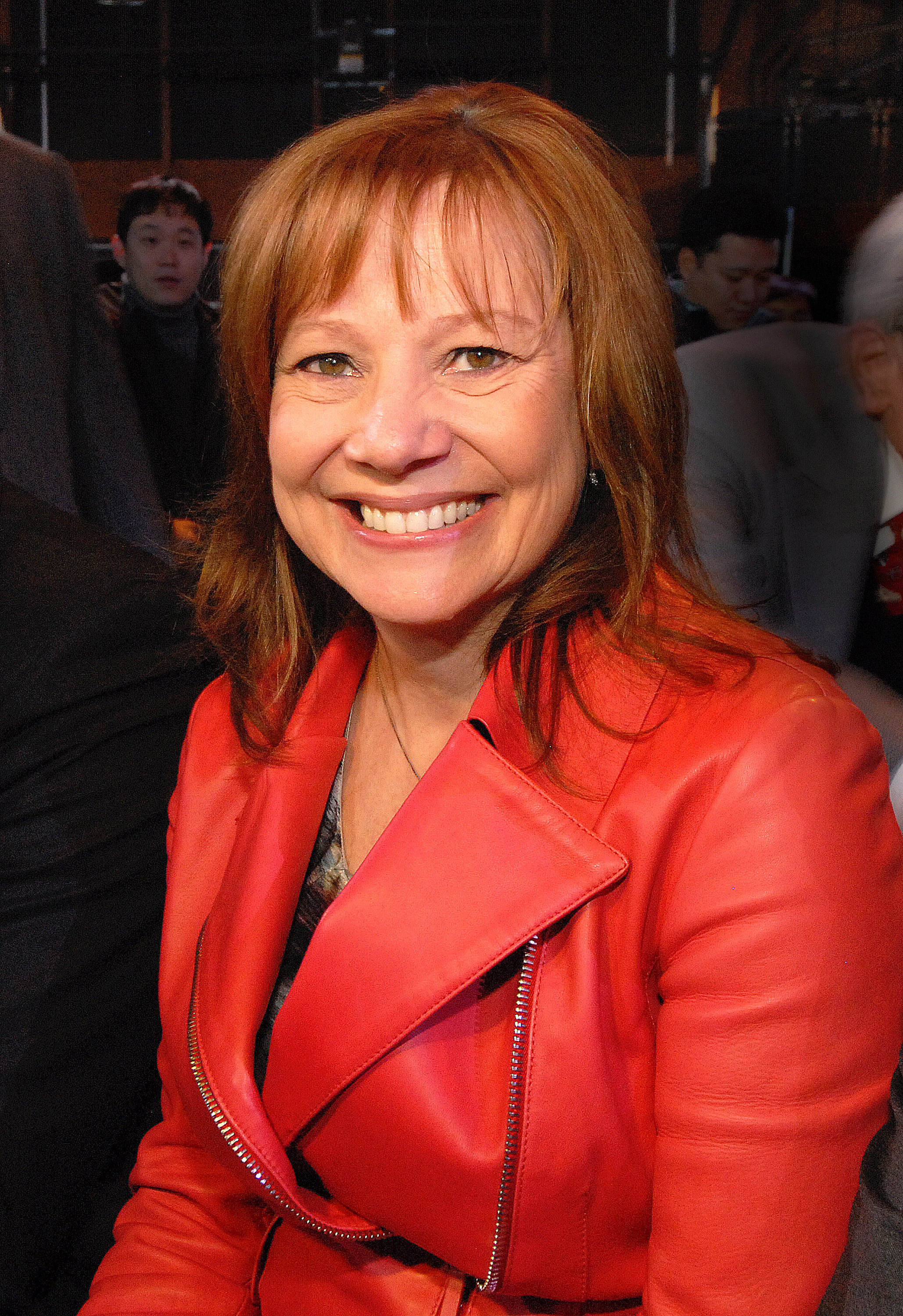 Mary Barra, CEO of General Motors, attends the Buick Avenir press conference on Jan. 11, 2015 in Detroit, Michigan.