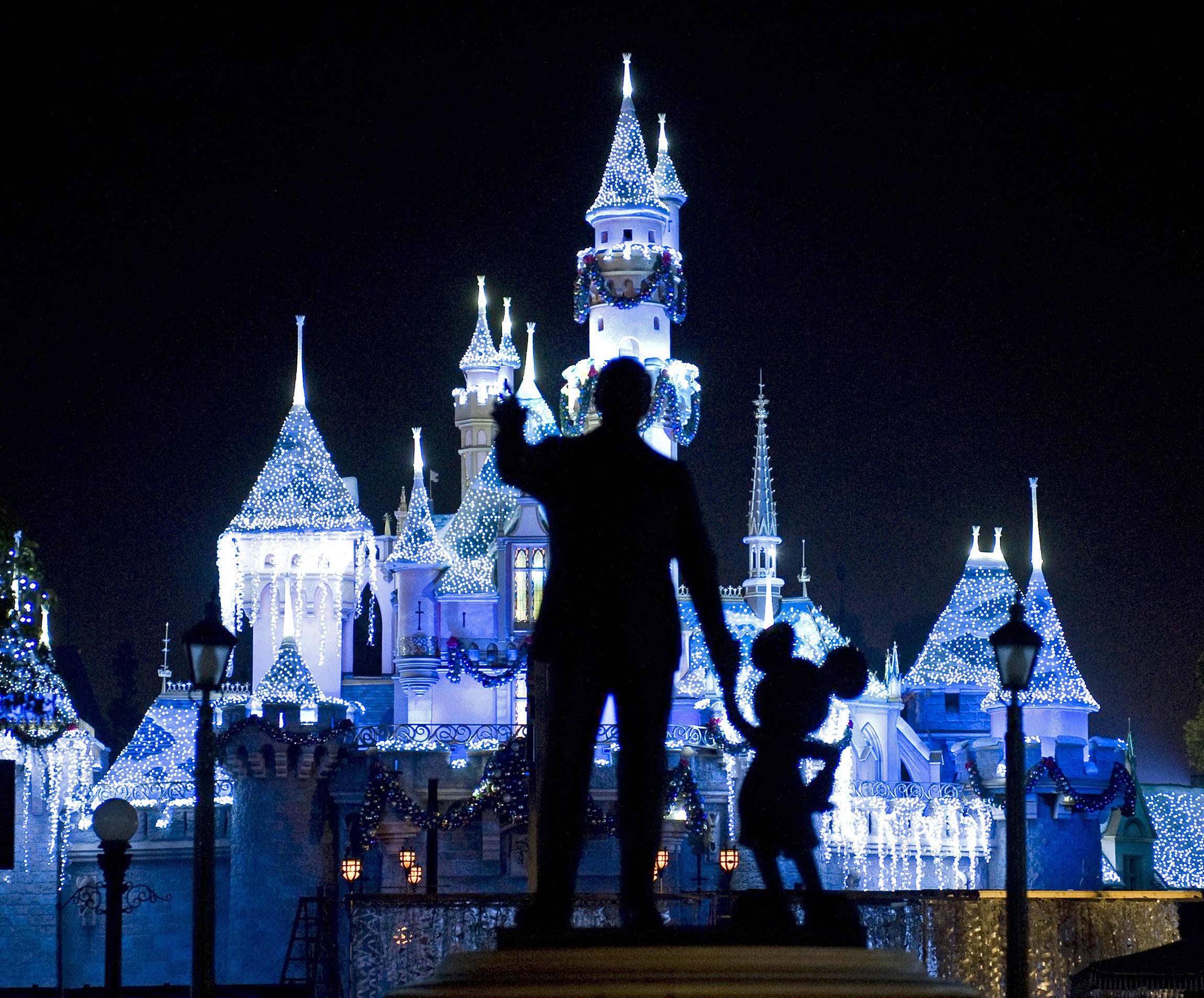 Disneyland in Anaheim, Calif.