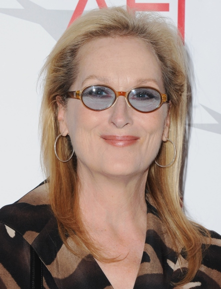 Actress Meryl Streep at the 15th Annual AFI Awards on Jan. 9, 2015 in Beverly Hills, California.