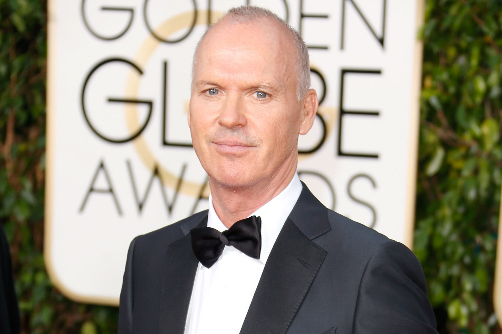 Michael Keaton attends the 72nd Annual Golden Globe Awards at The Beverly Hilton Hotel on Jan. 11, 2015 in Beverly Hills, Calif.