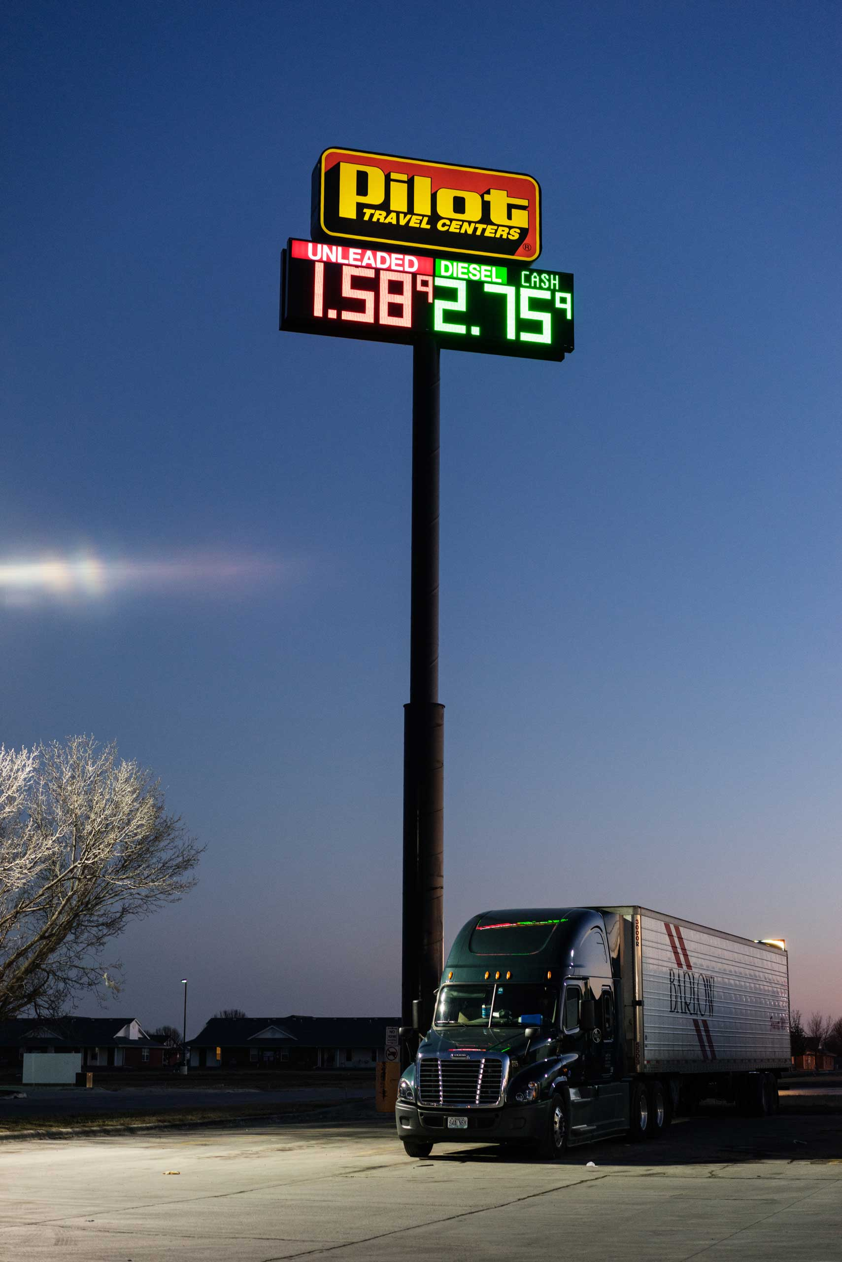 Pilot Travel Center on East Austin Road in Nevada, Mo. on Jan. 15, 2015.