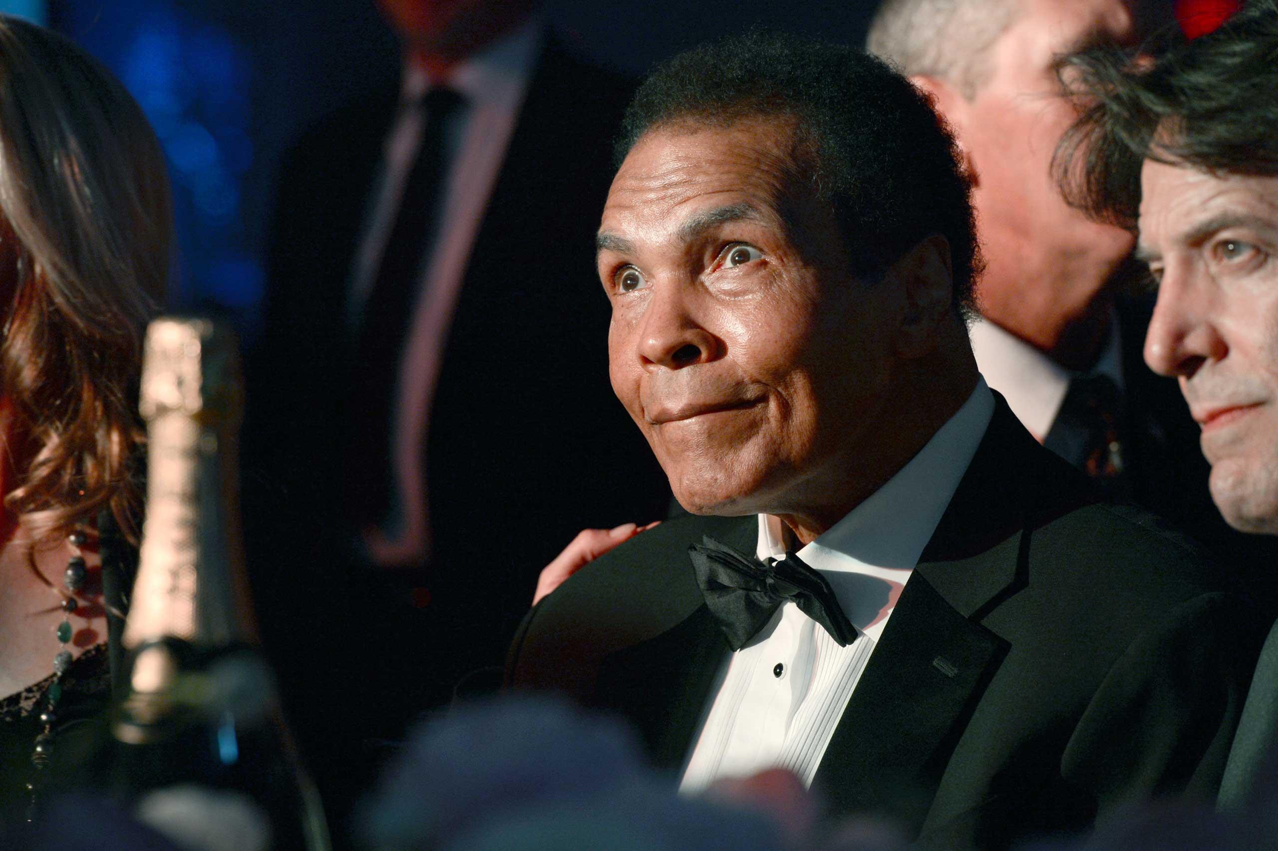 Muhammad Ali at Celebrity Fight Night XIX at JW Marriott Desert Ridge Resort & Spa in Phoenix on March 23, 2013.