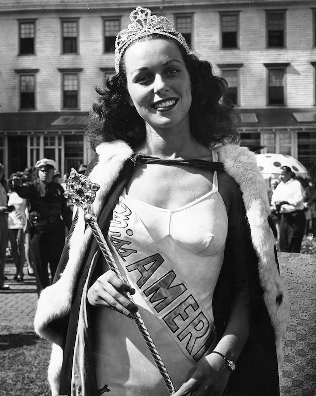 Miss America winner Bess Myerson
