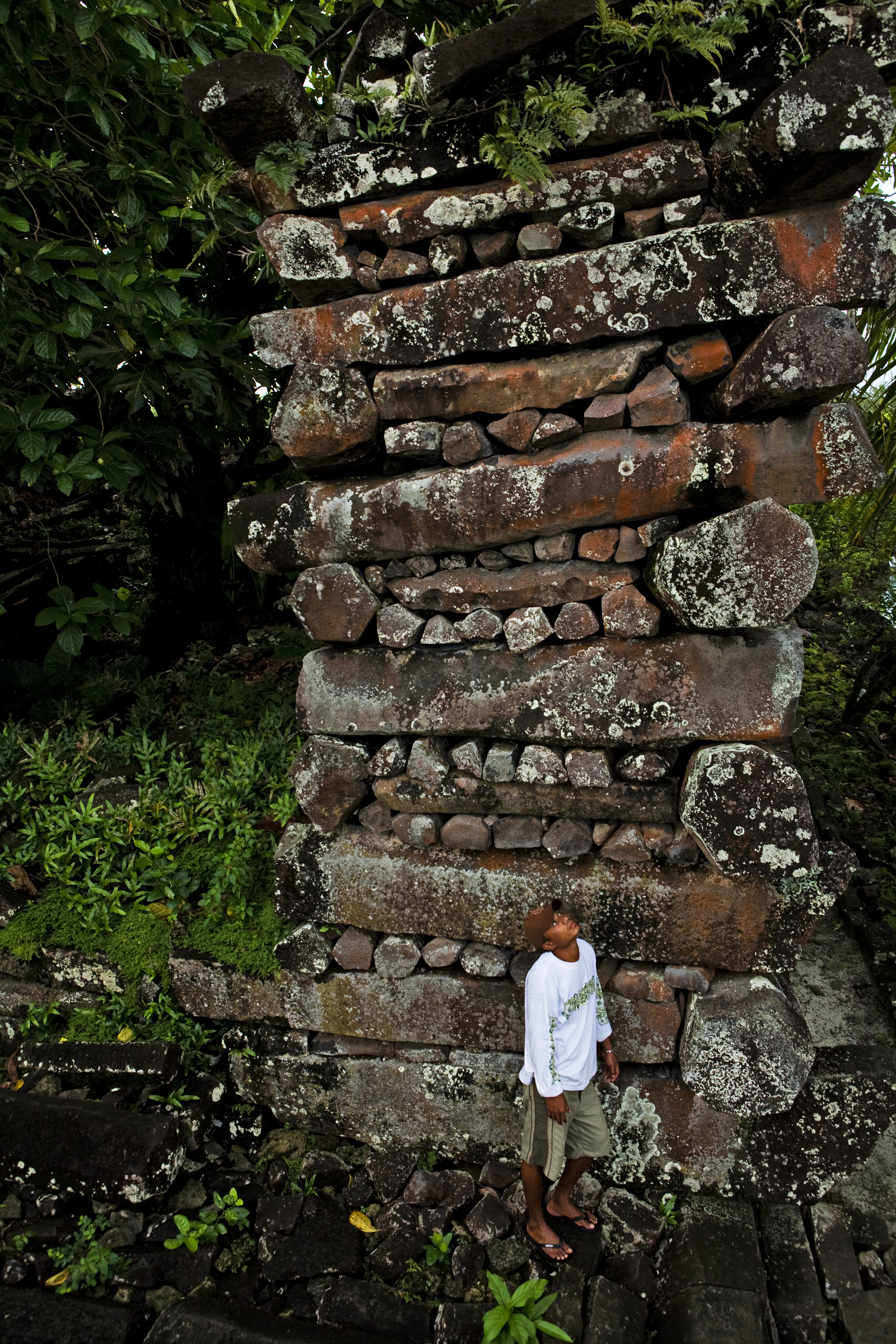 The ancient ruins of Nan Madol on Pohnpei Island, Micronesia on Jan. 28, 2008.