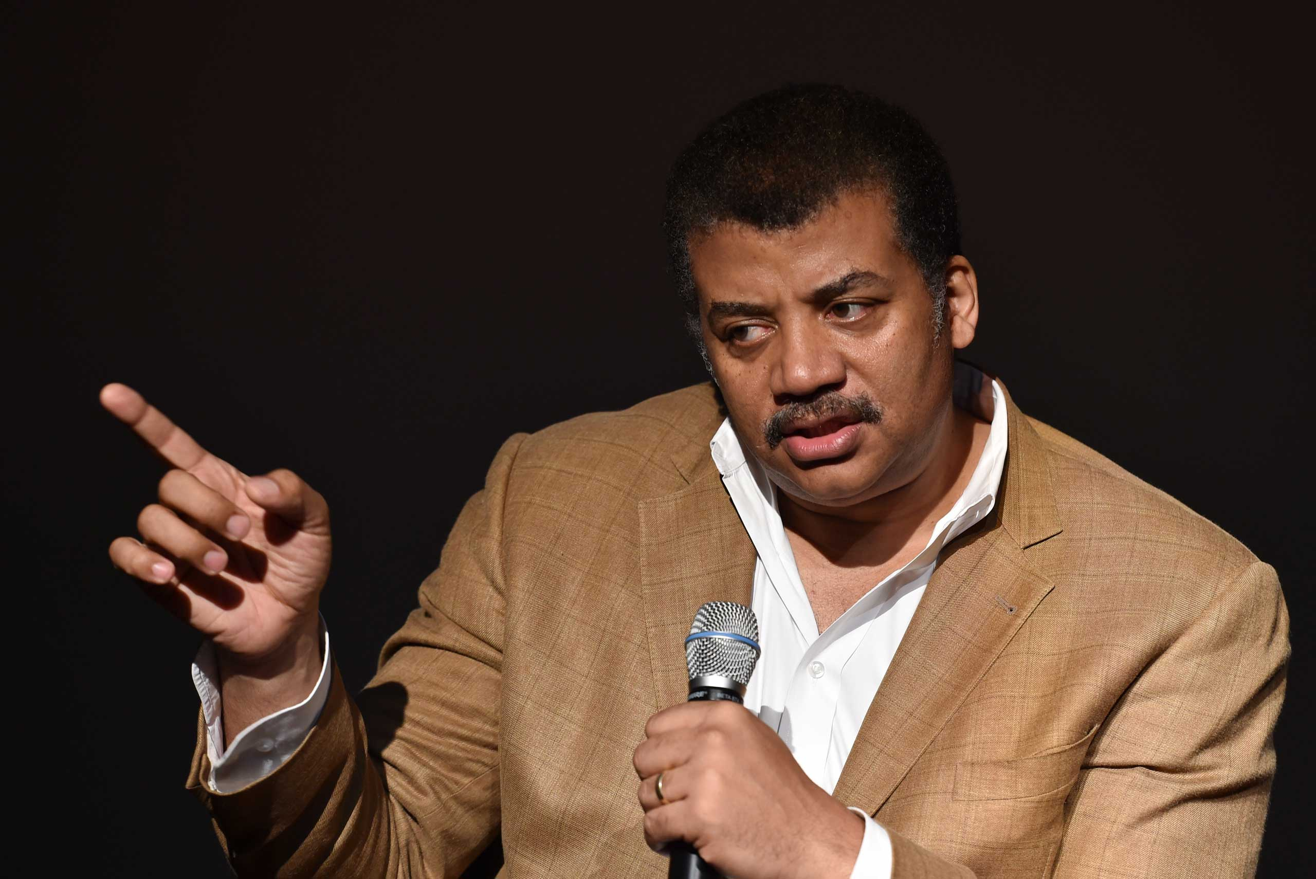 Neil deGrasse Tyson in New York in 2014.
