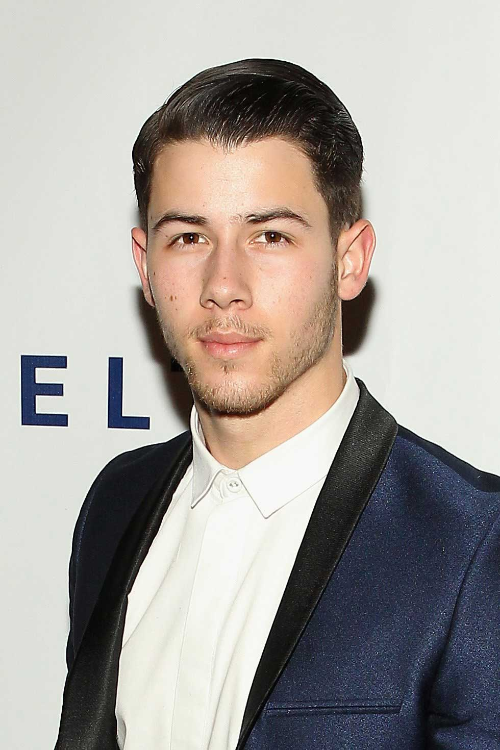 Nick Jonas attends an event at John F. Kennedy Center for the Performing Arts on Jan. 7, 2015 in Washington, DC.