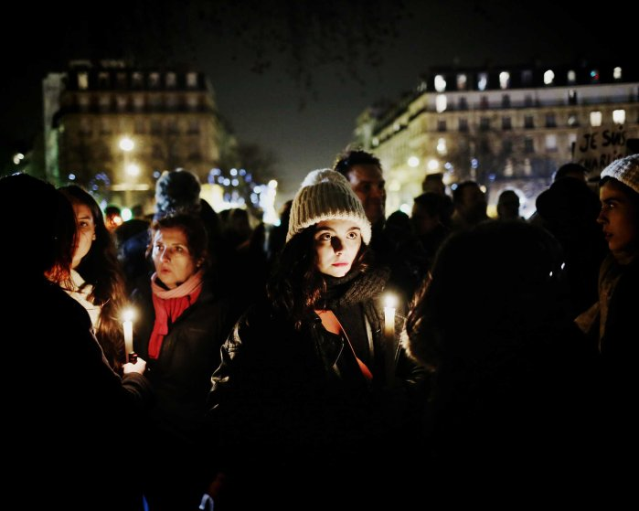 France's largest demonstration since the end of World War II, Parisians of all walks of life marched against terror, Jan. 11, 2015.
