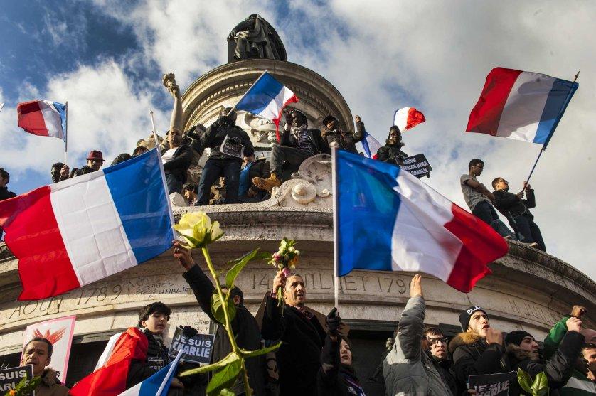 Solidarity march in Paris, Jan. 11, 2015.