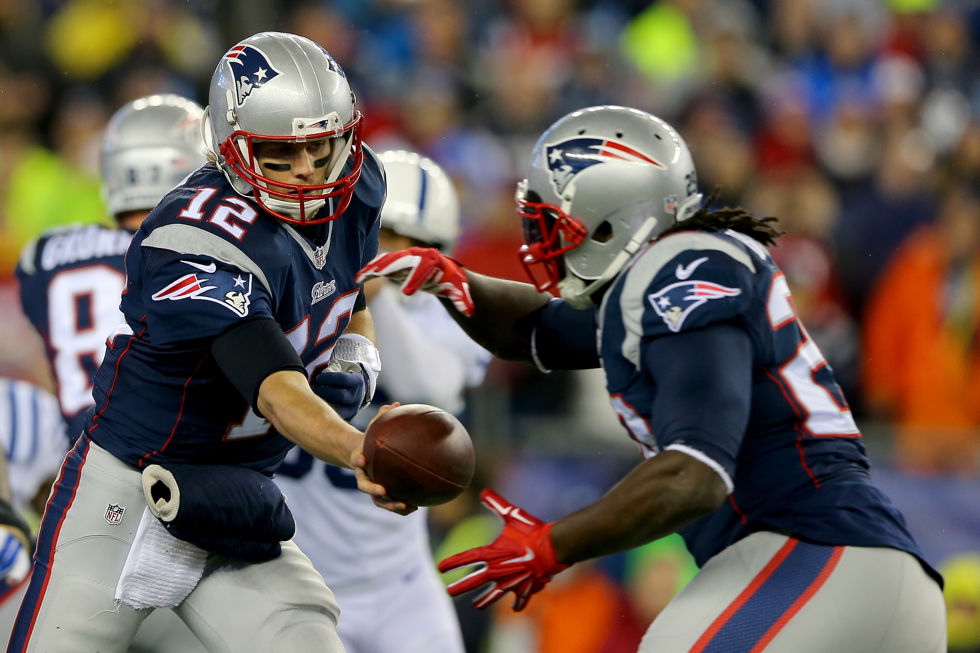 New England Patriots at the 2015 AFC Championship Game at Gillette Stadium on January 18, 2015 in  Massachusetts.