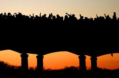 Thousands march across the Edmund Pettus Bridge