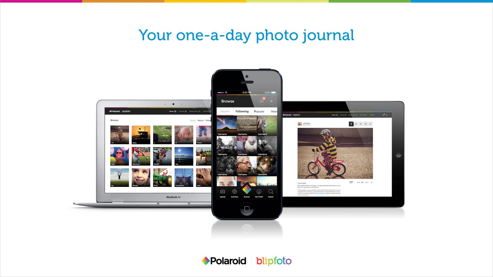 Polaroid Blipfoto