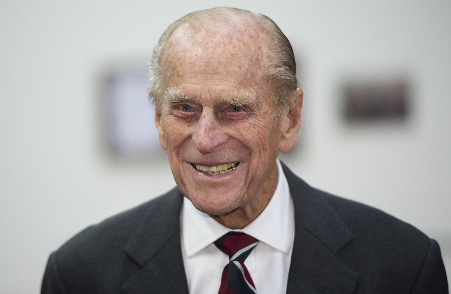 Prince Philip, the Duke of Edinburgh, attends the opening of  First World War in the Air  exhibition at the RAF Museum in Hendon, England, on Dec. 2, 2014