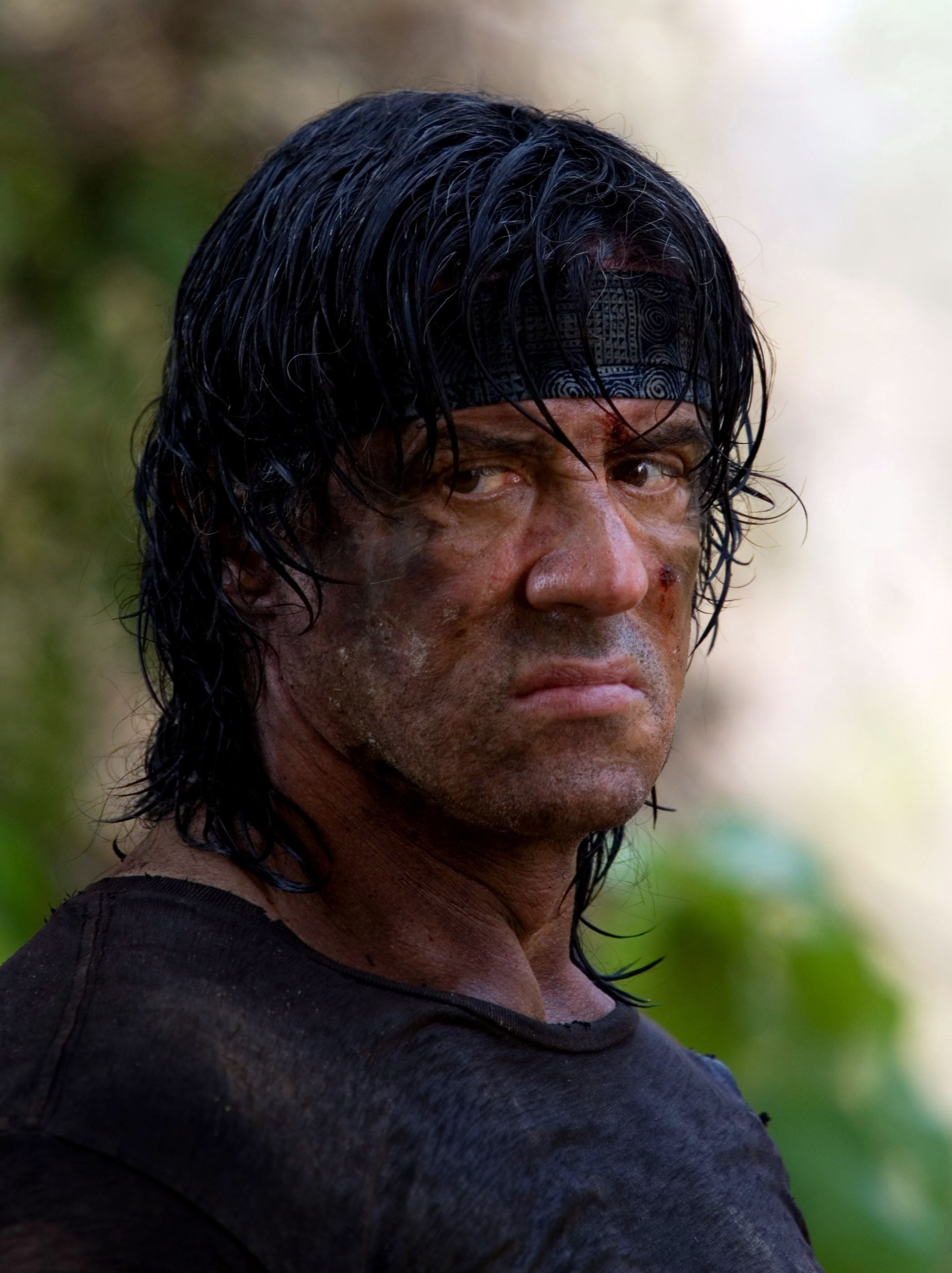 Sylvester Stallone in the 2008 Rambo