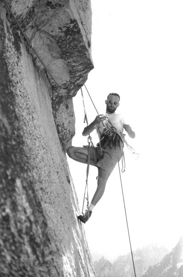 1961: Royal Robbins scales the Salathé Wall