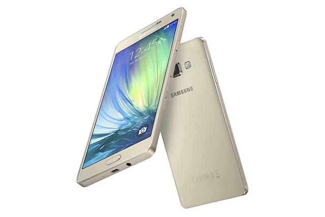 Samsung's Galaxy A7 smartphone.