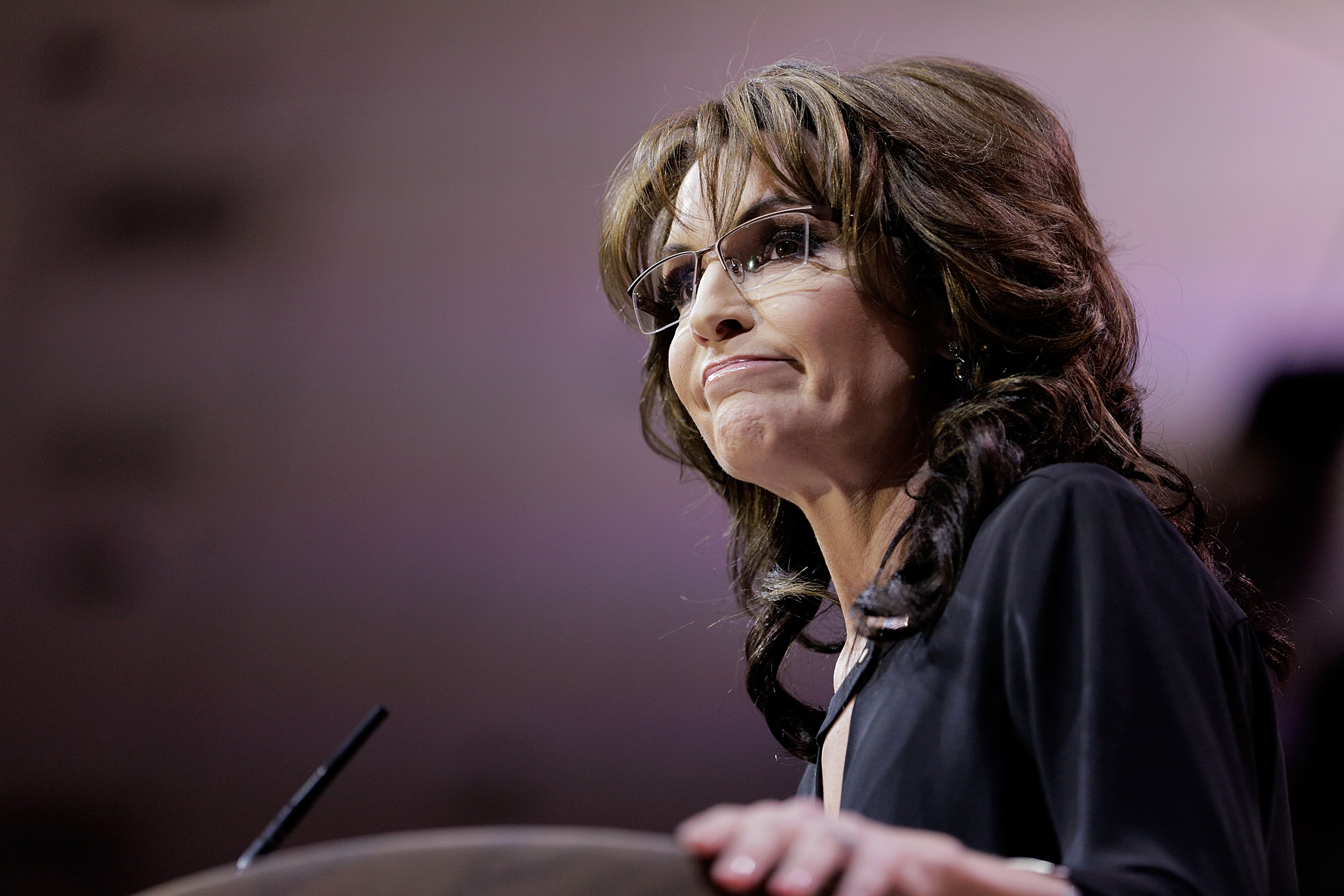 Sarah Palin speaks during the 41st annual Conservative Political Action Conference at the Gaylord International Hotel and Conference Center on March 8, 2014 in National Harbor, Md.
