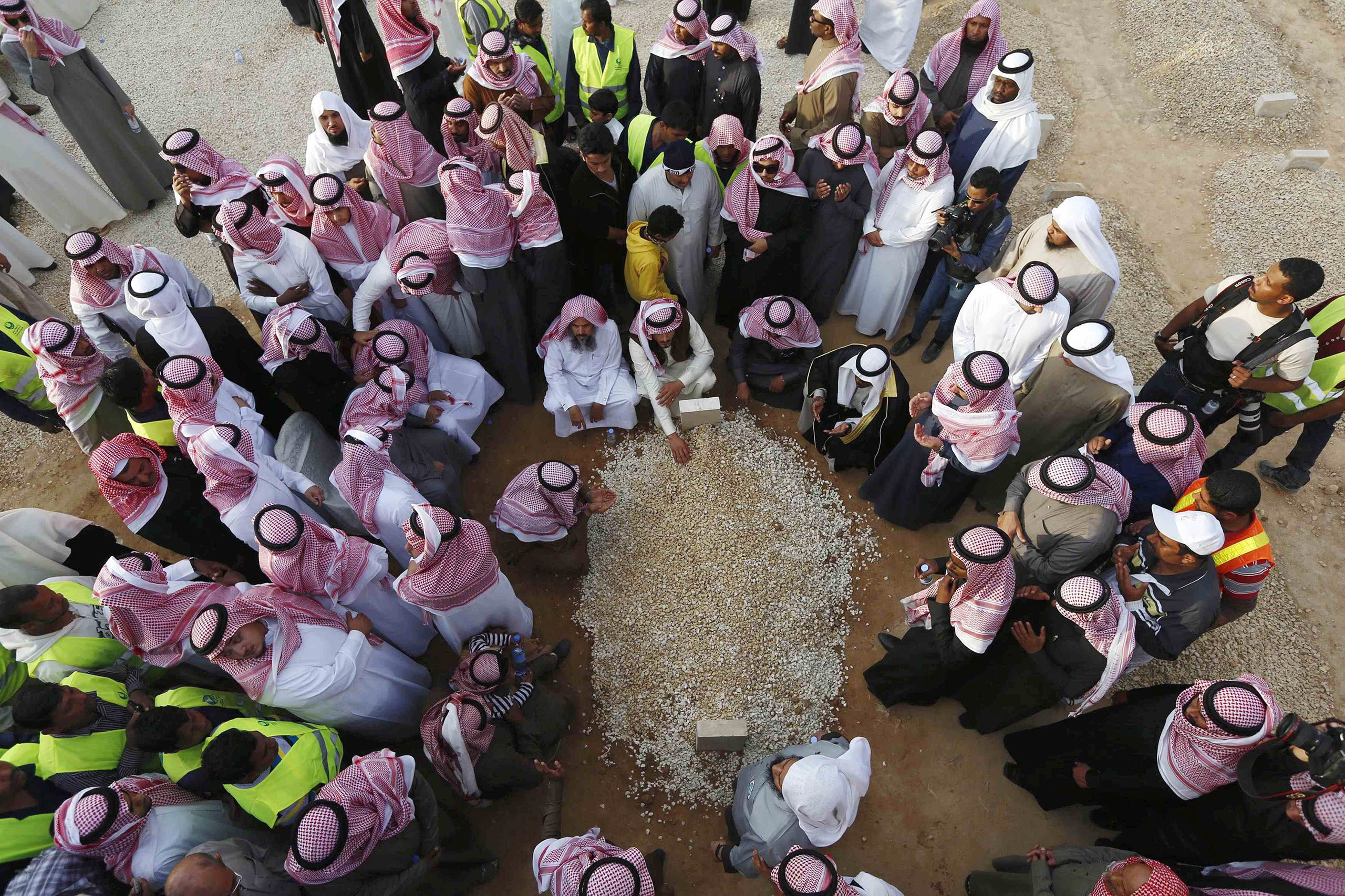 In keeping with tradition, King Abdullah, 90, was buried in an unmarked grave in Riyadh on Jan. 23, after ruling Saudi Arabia for nearly a decade