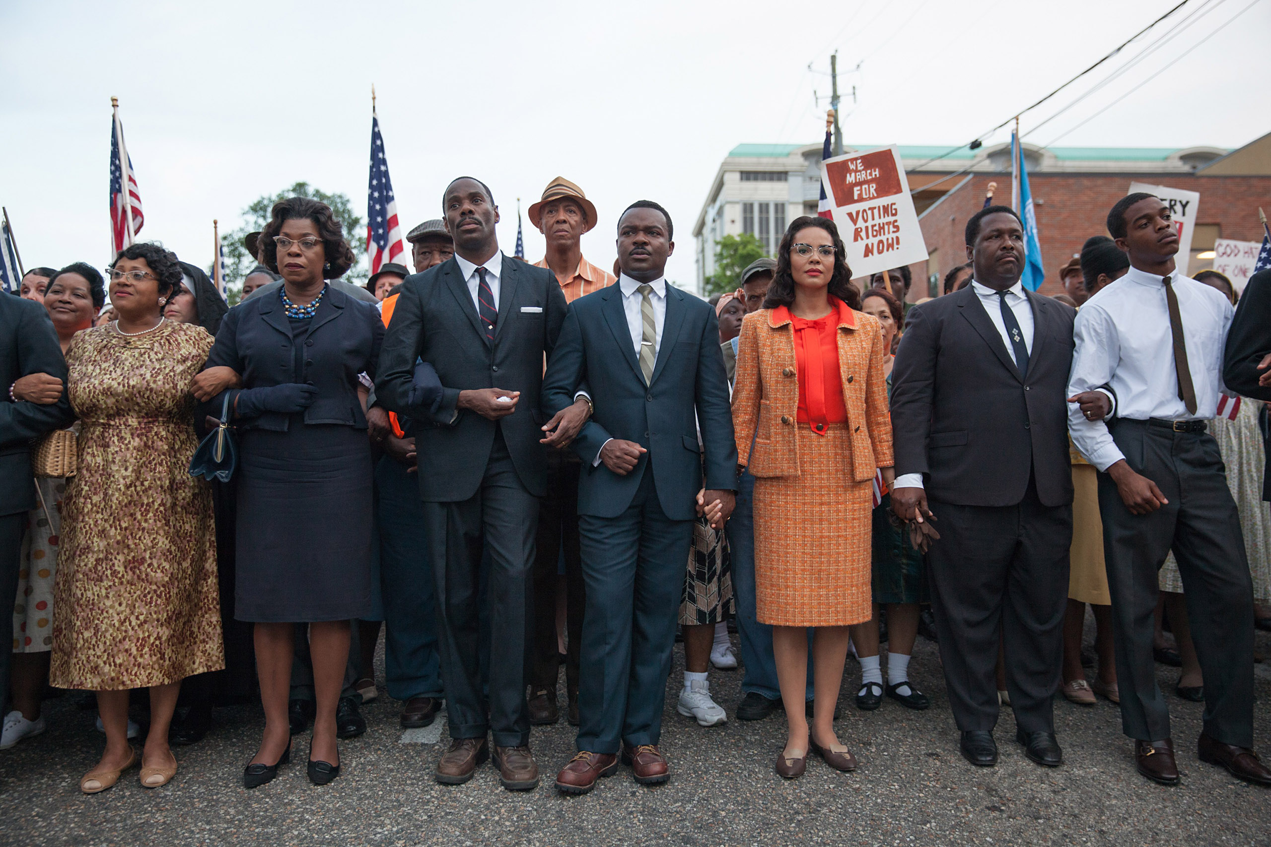 From the set of Selma.