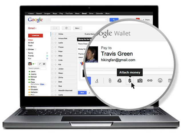 Here S How To Send Money Over Gmail Time