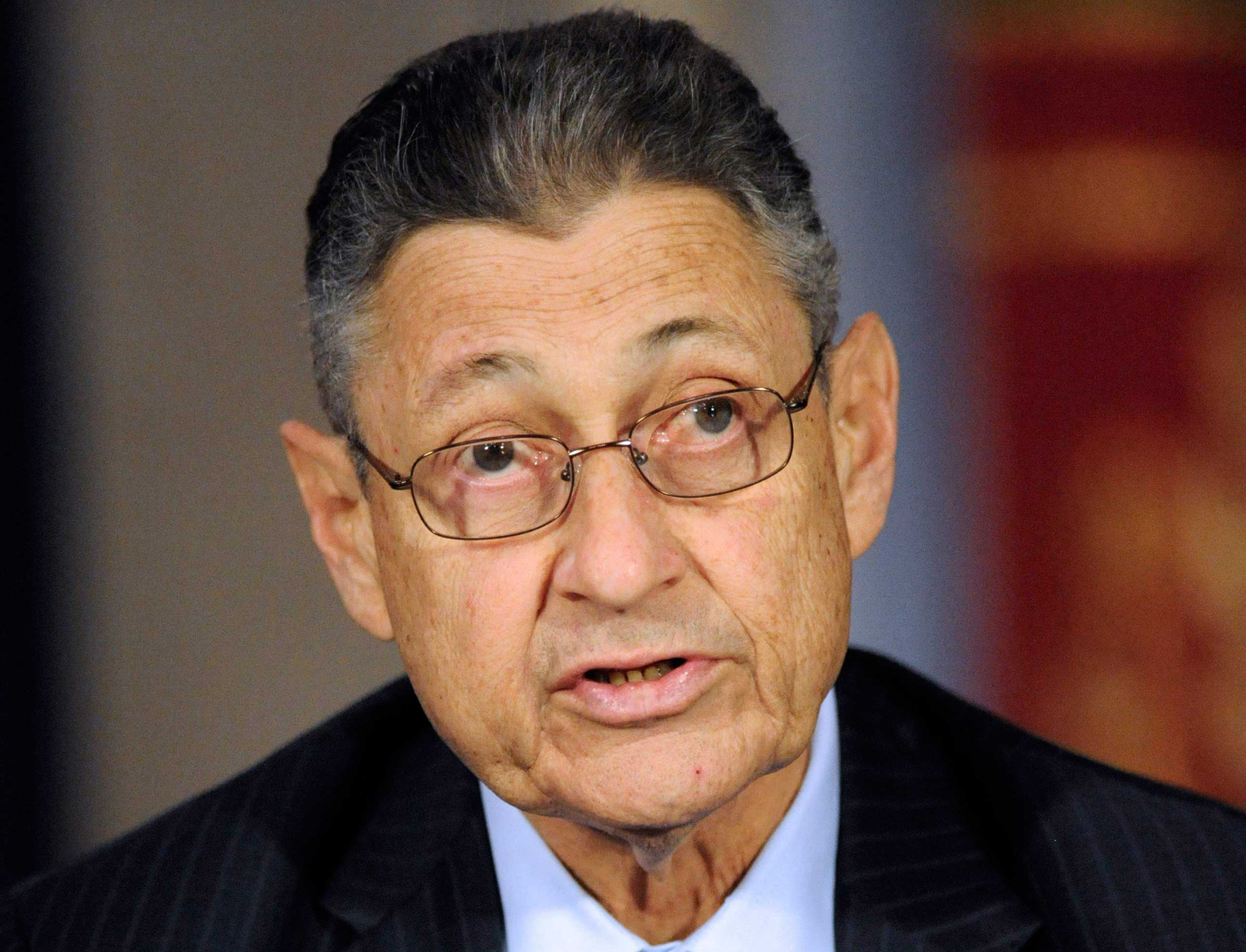 The speaker of the New York State Assembly Sheldon Silver, in Albany, N.Y., in 2012.