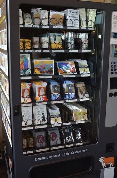 SouveNEAR vending machine