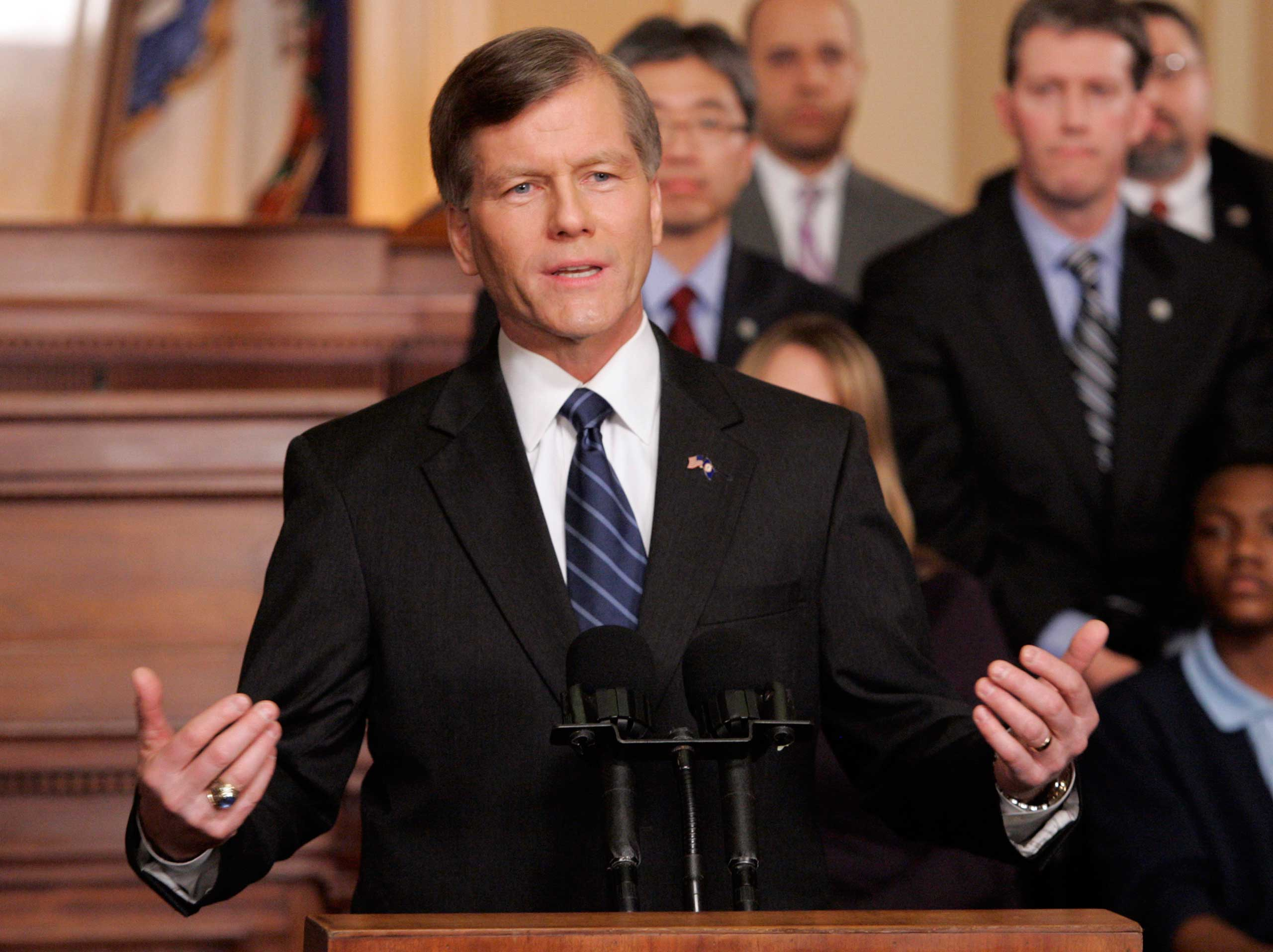 Virginia Gov. Bob McDonnell gave the response to Obama in 2010. He was recently sentenced to two years in prison in a corruption case.