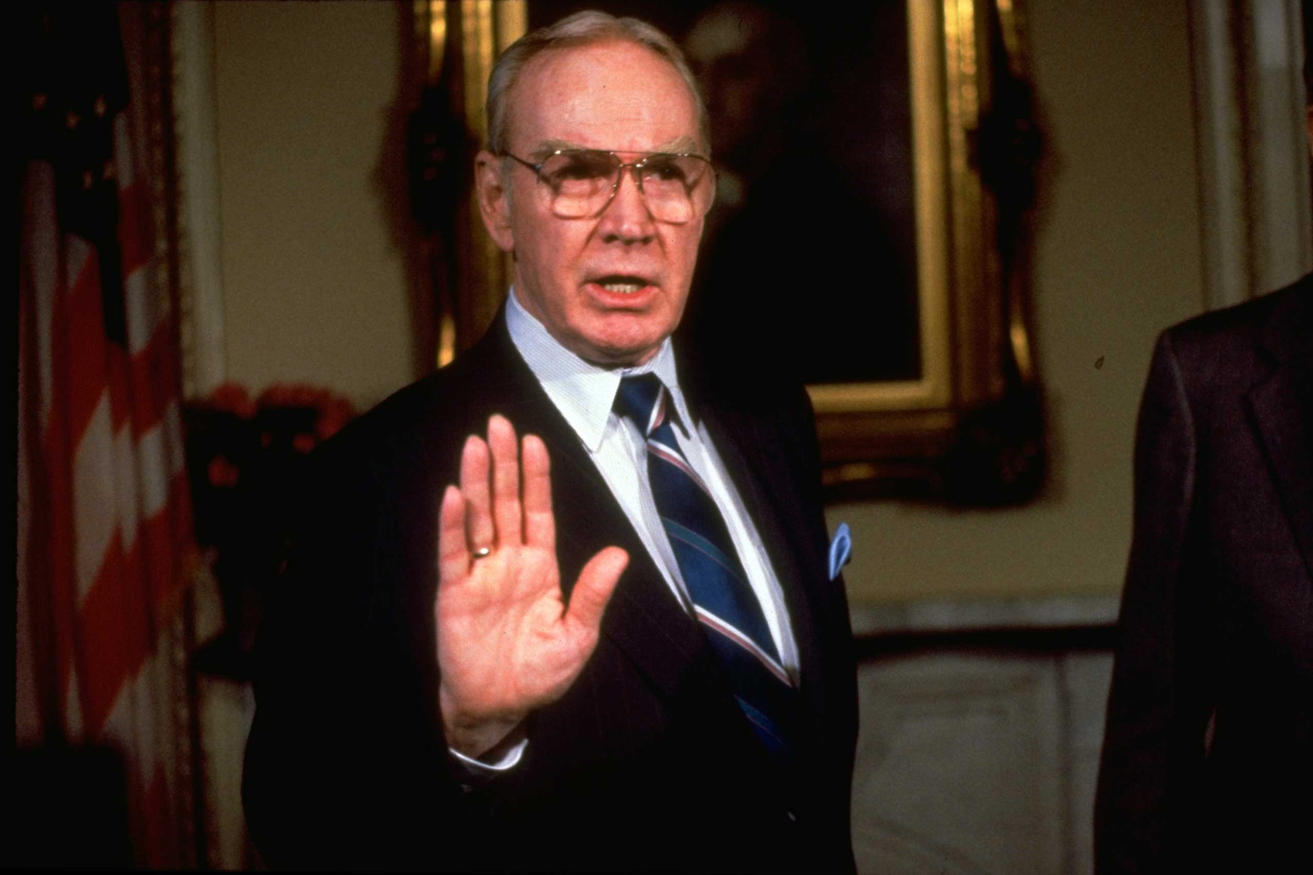House Speaker Jim Wright gave the response to George H.W. Bush in 1989. He resigned later that year after an ethics scandal.