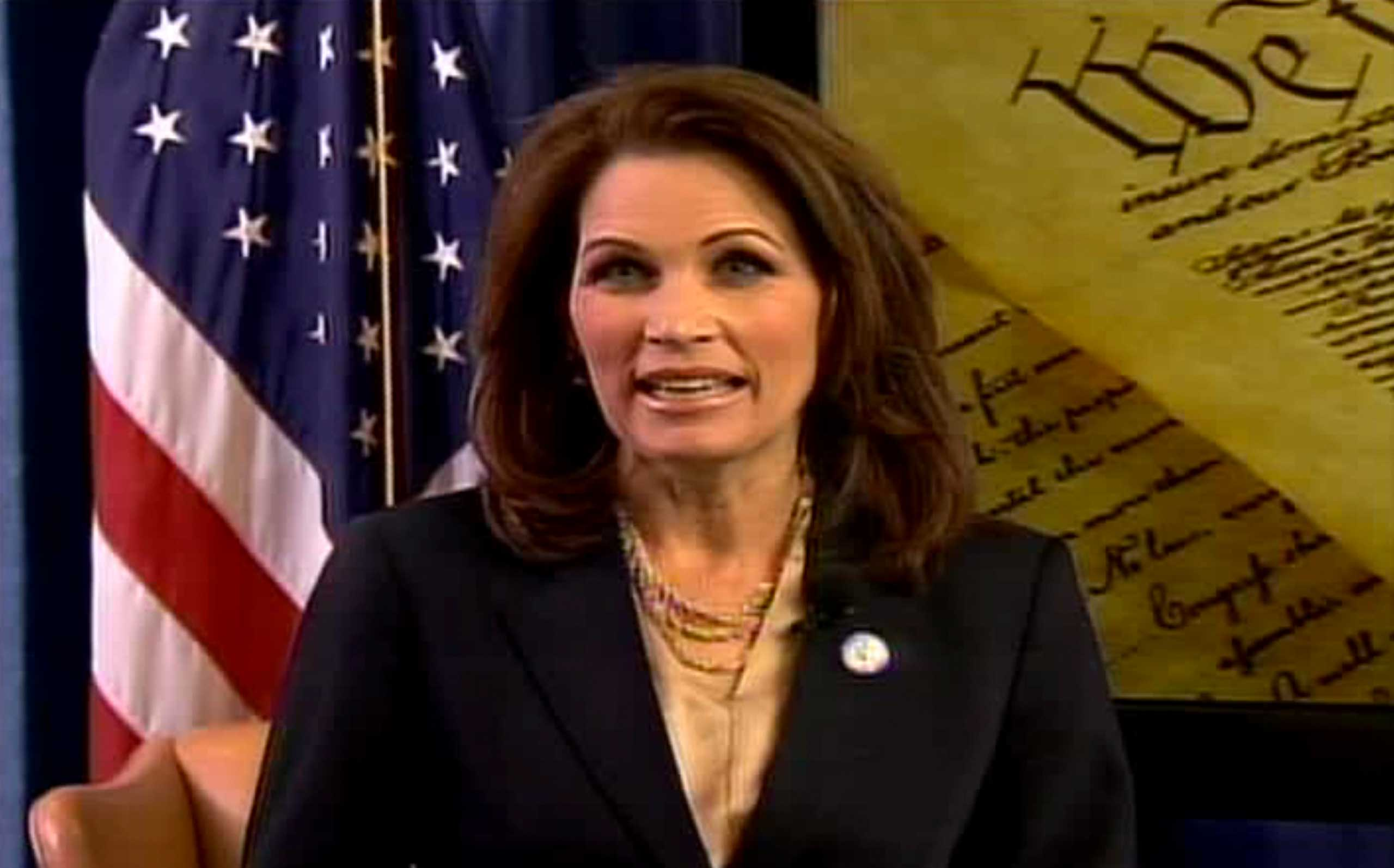 Rep. Michele Bachmann gave the unofficial tea party response to Obama in 2011. The next year, she came in last in the Iowa presidential caucuses.