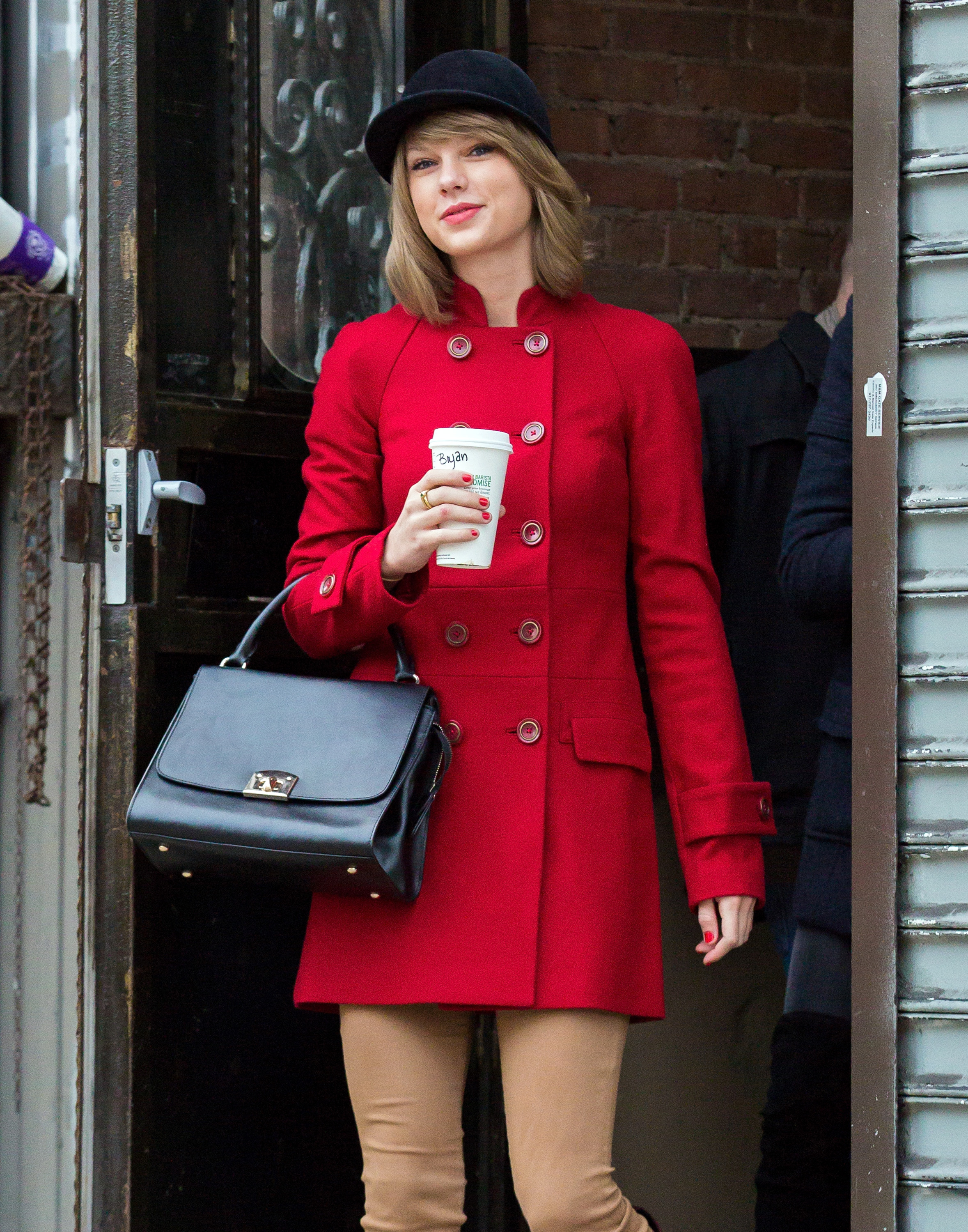 Taylor Swift in TriBeCa on Jan. 17, 2015 in New York City.