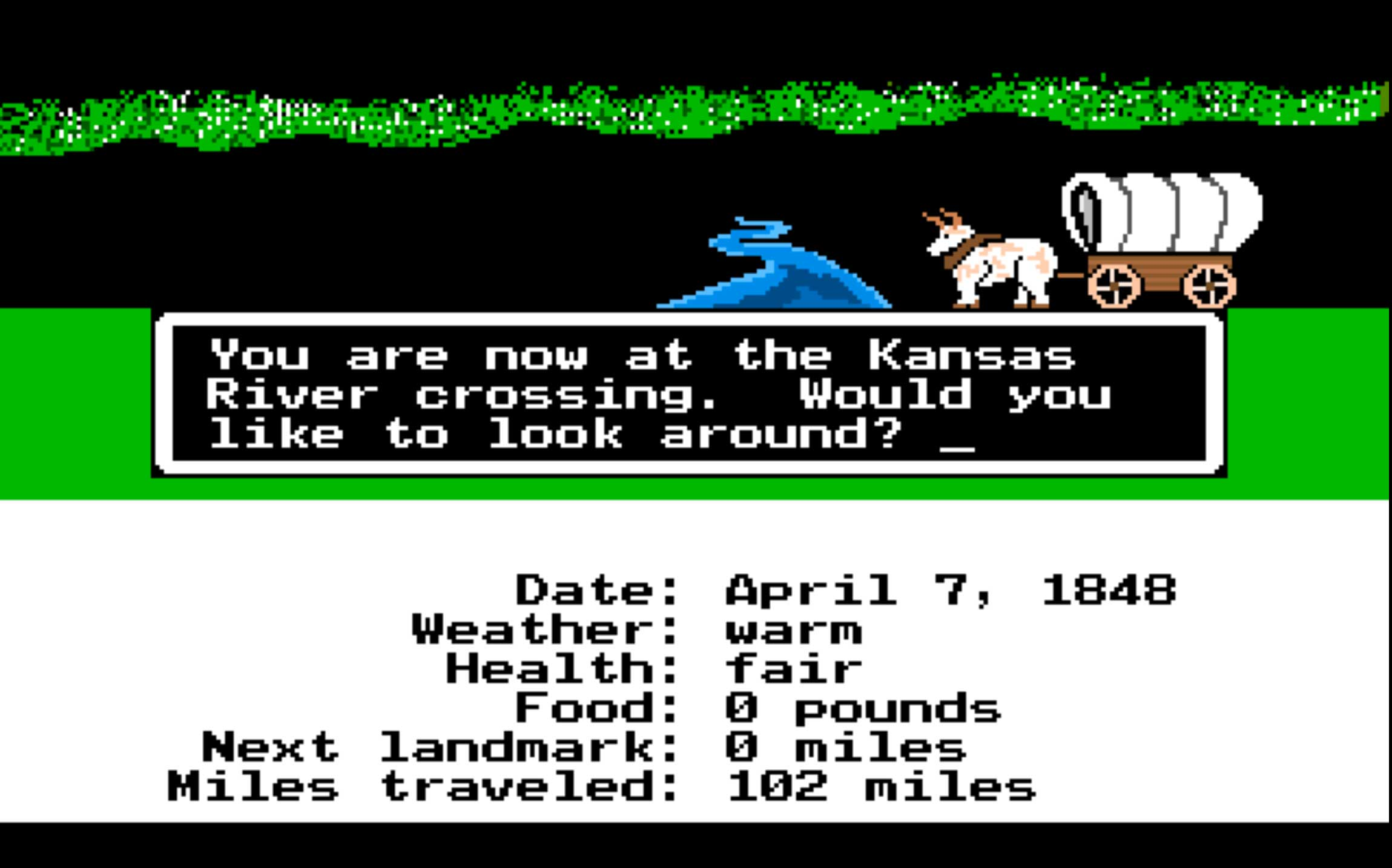 The Oregon Trail (1990)                                                                                              Nostalgia for this elementary school library favorite has never faded — probably because they've relaunched the game so many times. Originally released in 1971, the Internet Archive's edition is from 1990, but don't worry, you can still die of dysentery in it.