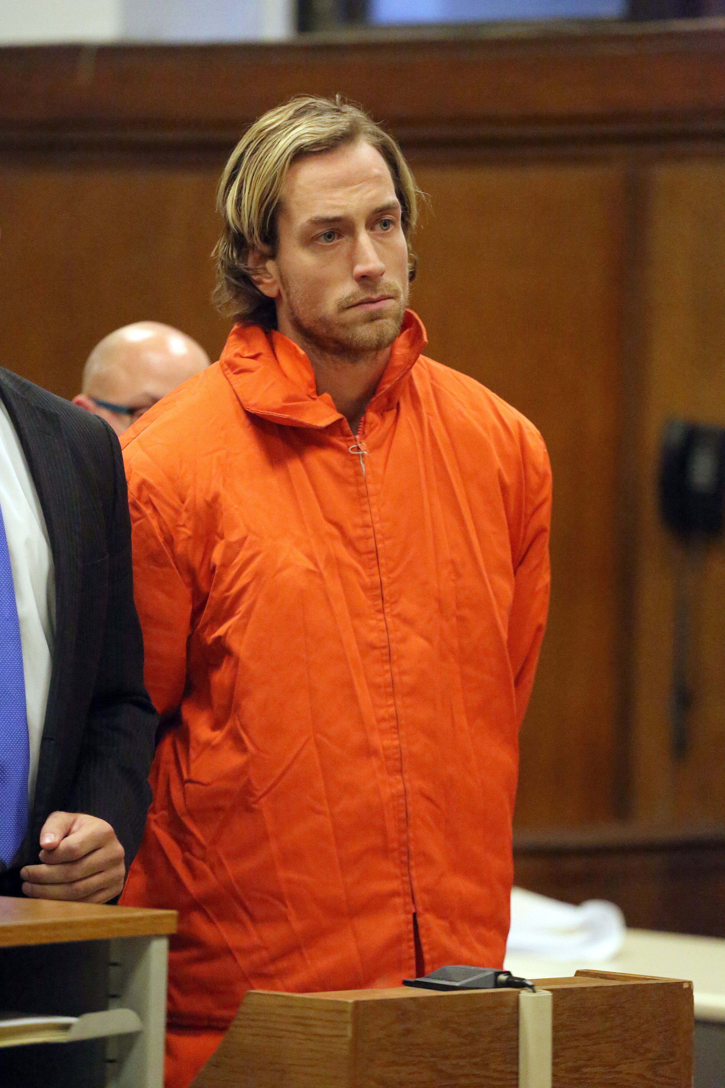 Thomas Gilbert, Jr. appeared in Manhattan Criminal Court on Friday, January 9, 2015.
