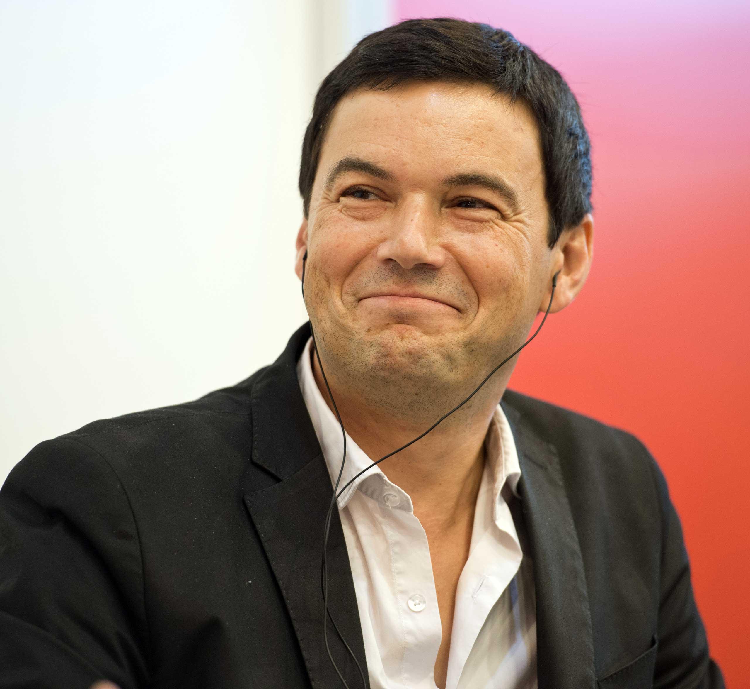 Economist Thomas Piketty in Frankfurt, Germany, in Oct. 2014.