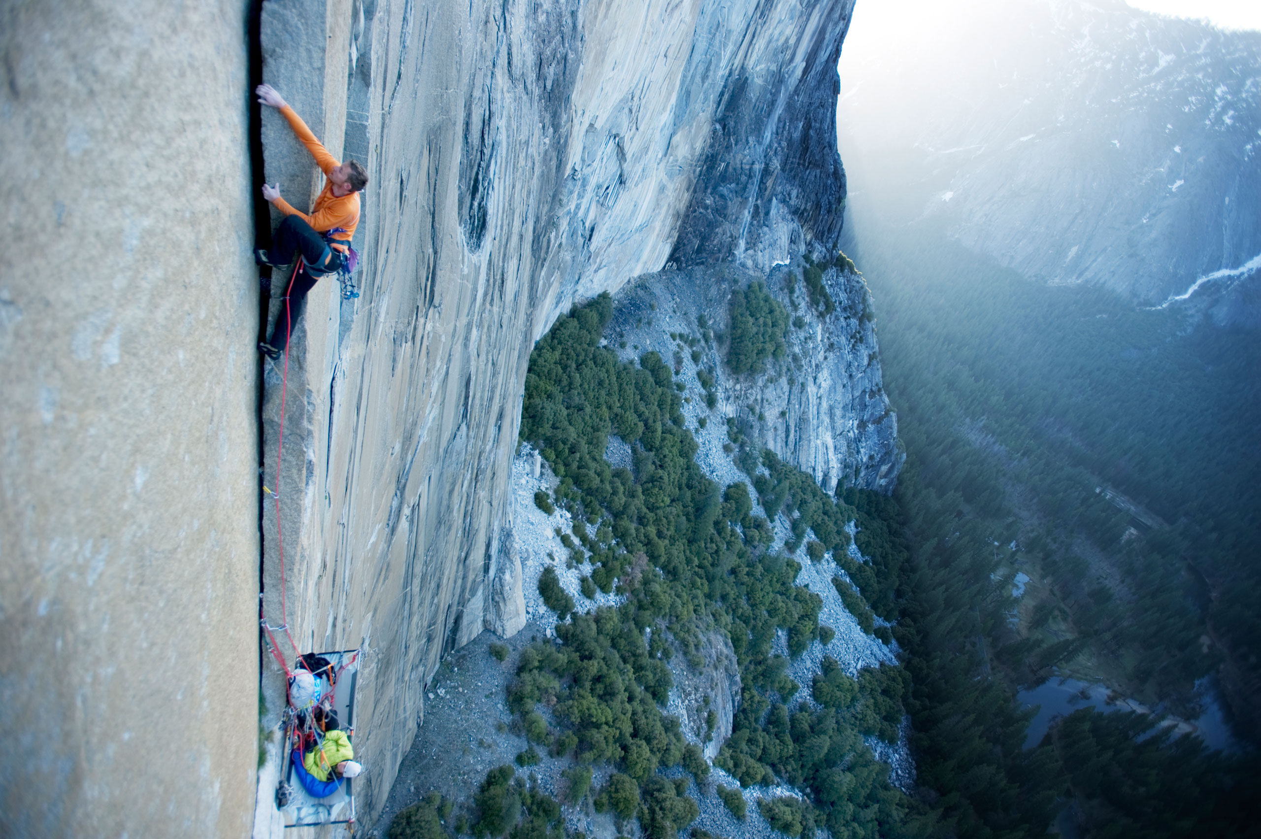 2000s: Tommy Caldwell frees more routes                                                              Tommy Caldwell has established some of the hardest climbing routes in the country. But his playground is Yosemite. He has free climbed the most routes on El Capitan than any other climber and he was the first to free climb routes including the Dihedral Wall, Magic Mushrooms and Muir Wall.