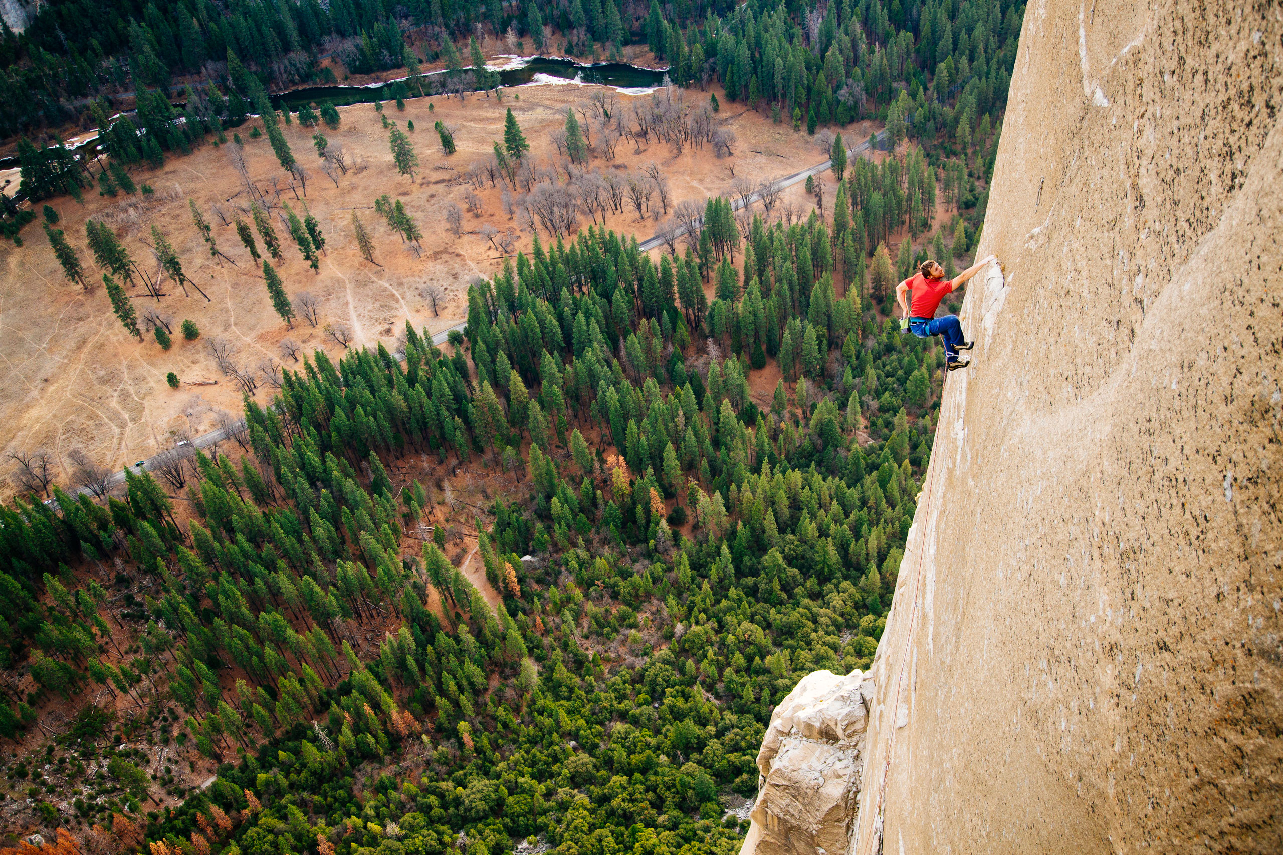 2015: The Dawn Wall meets its match                                                              In January 2015, some 45 years after Warren Harding first established the Dawn Wall route, Tommy Caldwell and Kevin Jorgeson summited without rope assistance. Their free climb took 19 days. The Dawn Wall is considered by some in the climbing community to be the most challenging route to free climb in the world.