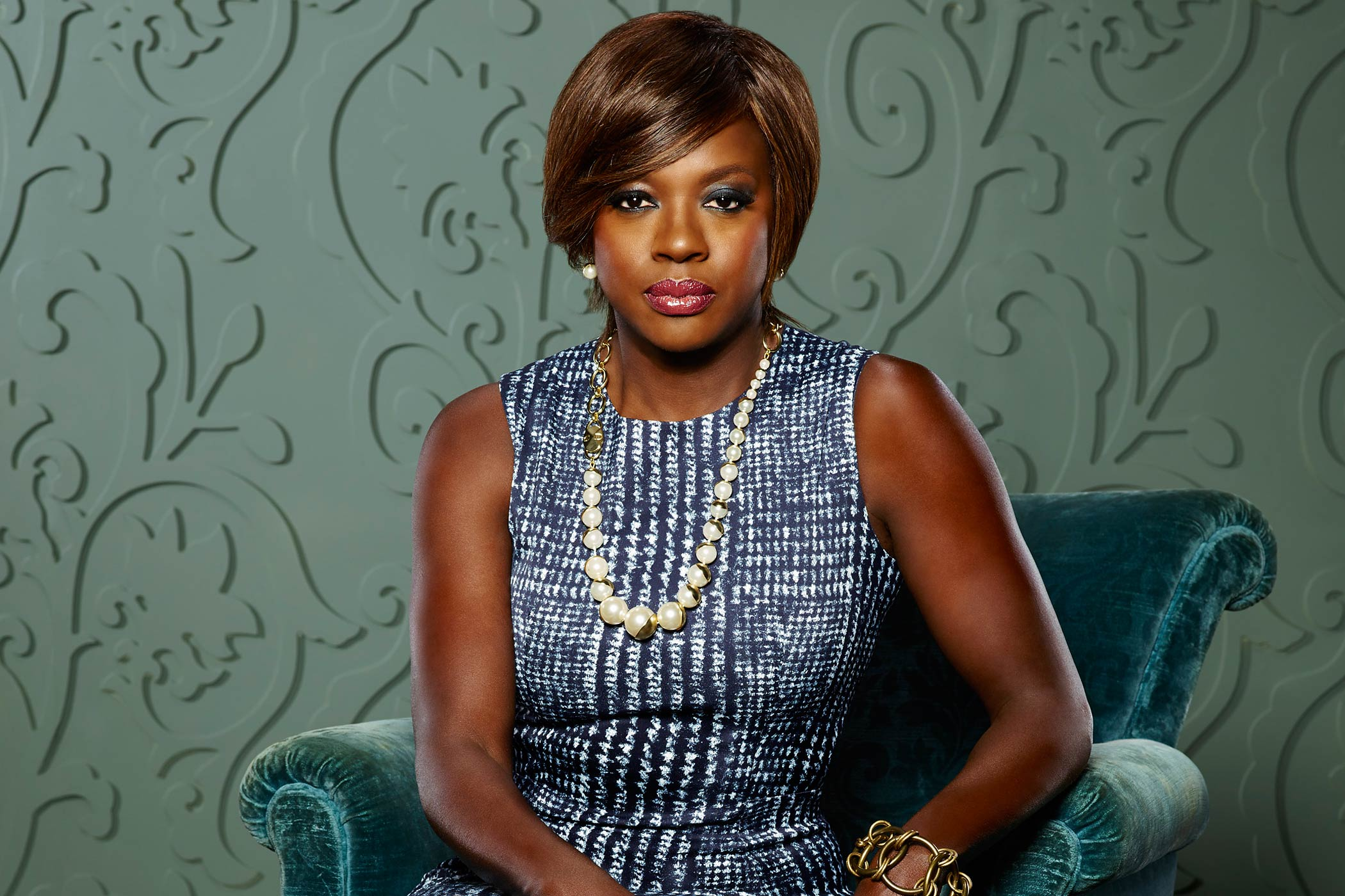 Viola Davis stars as Professor Annalise Keating in How to Get Away With Murder