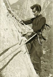 1958: Warren Harding climbs the Nose