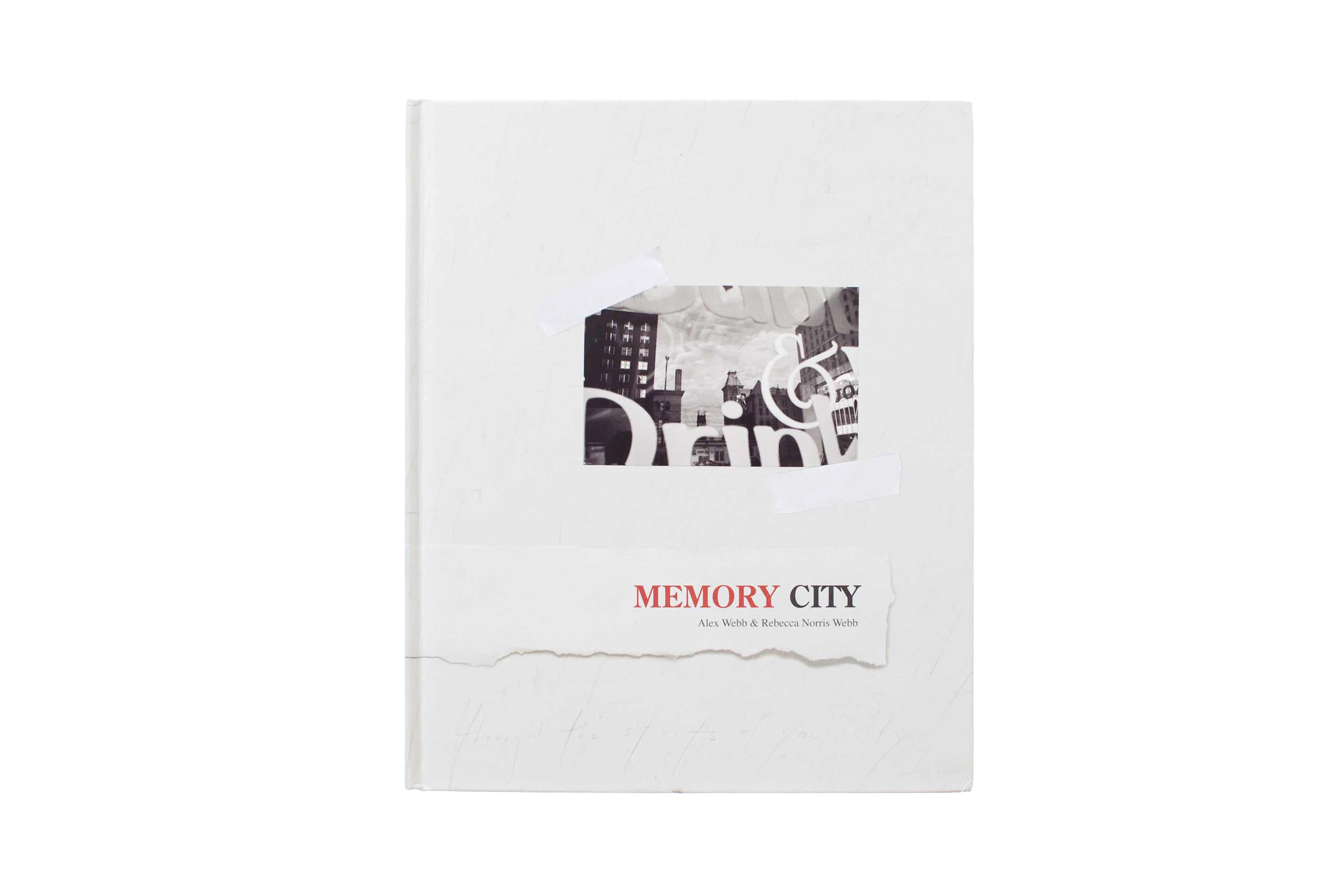 Memory City  Alex Webb and Rebecca Norris Webb's Memory City, published by Radius Books                                                              A collaboration between the two photographers  about the impact Kodak has had on the upstate New York City of Rochester. The book pays hommage to the company whose film was essential to the work of the husband and wife team..
