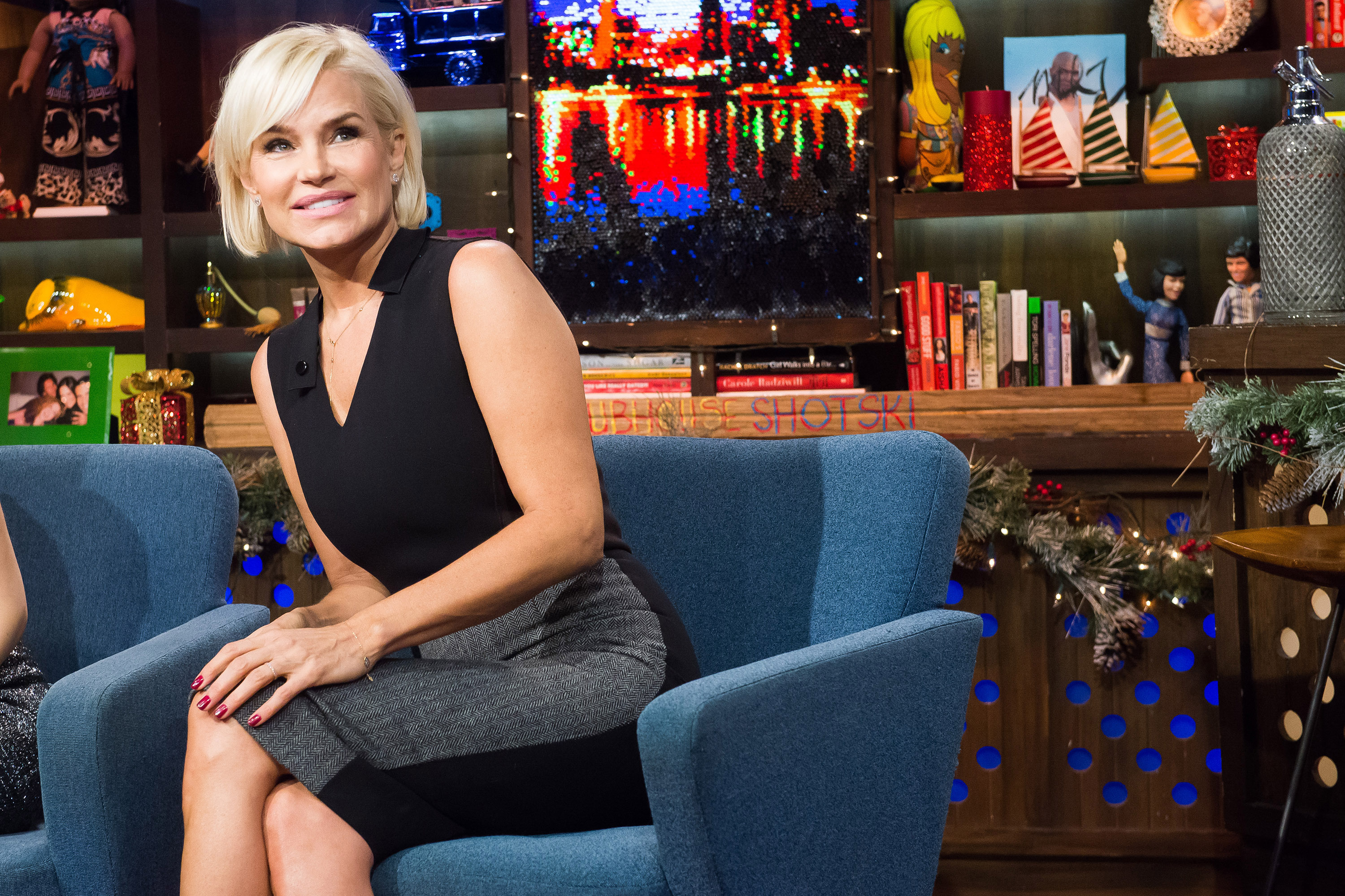 Yolanda Foster on Watch What Happens Live on Dec. 23, 2014.