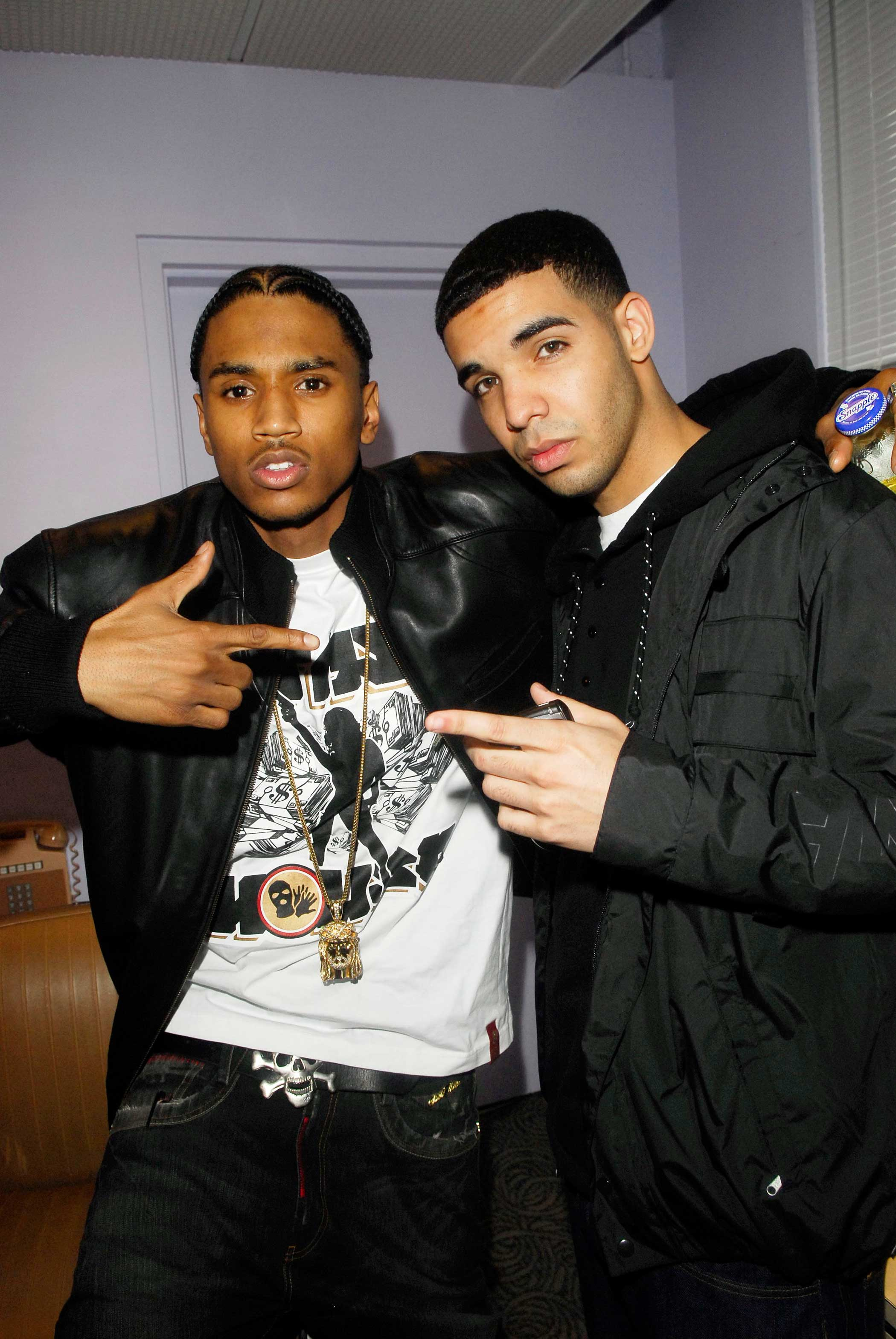 "Crooner Trey Songz appeared on Drake's 2009 track ""Successful,"" and that same year, Drake appeared on Songz' ""I Invented Sex."""