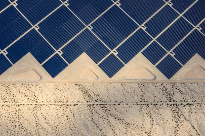 Desert Sunlight where 8 million solar panels power 160, 000 California homes. Jamey Stillings for TIME