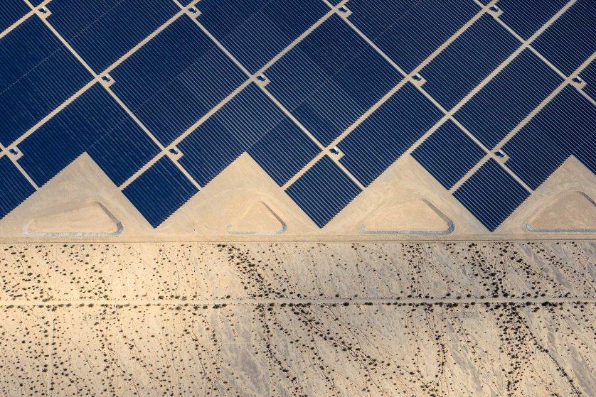 Desert Sunlight where 8 million solar panels power 160, 000 California homes. Jamey Stillings for TIME