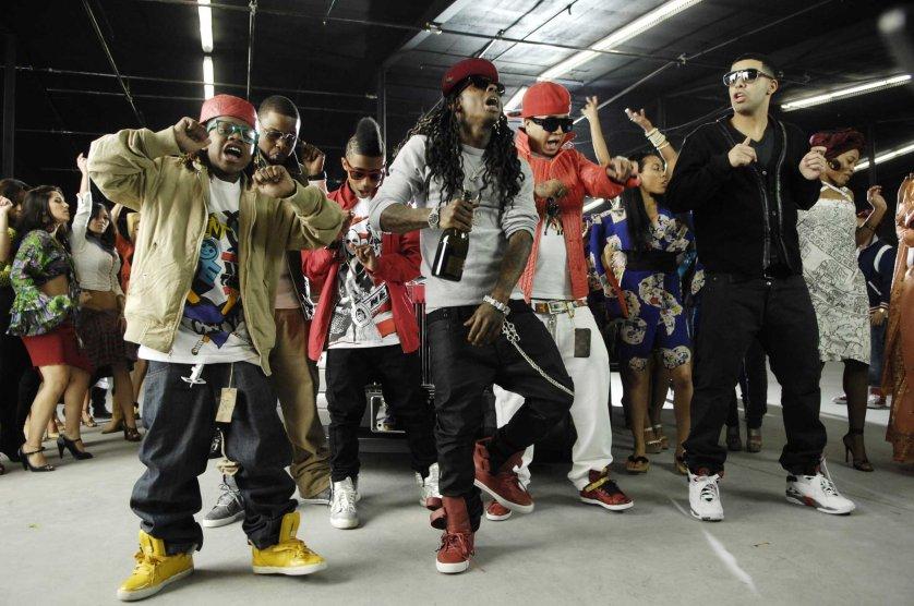"Lil Wayne ""Every Girl"" Music Video Shoot"