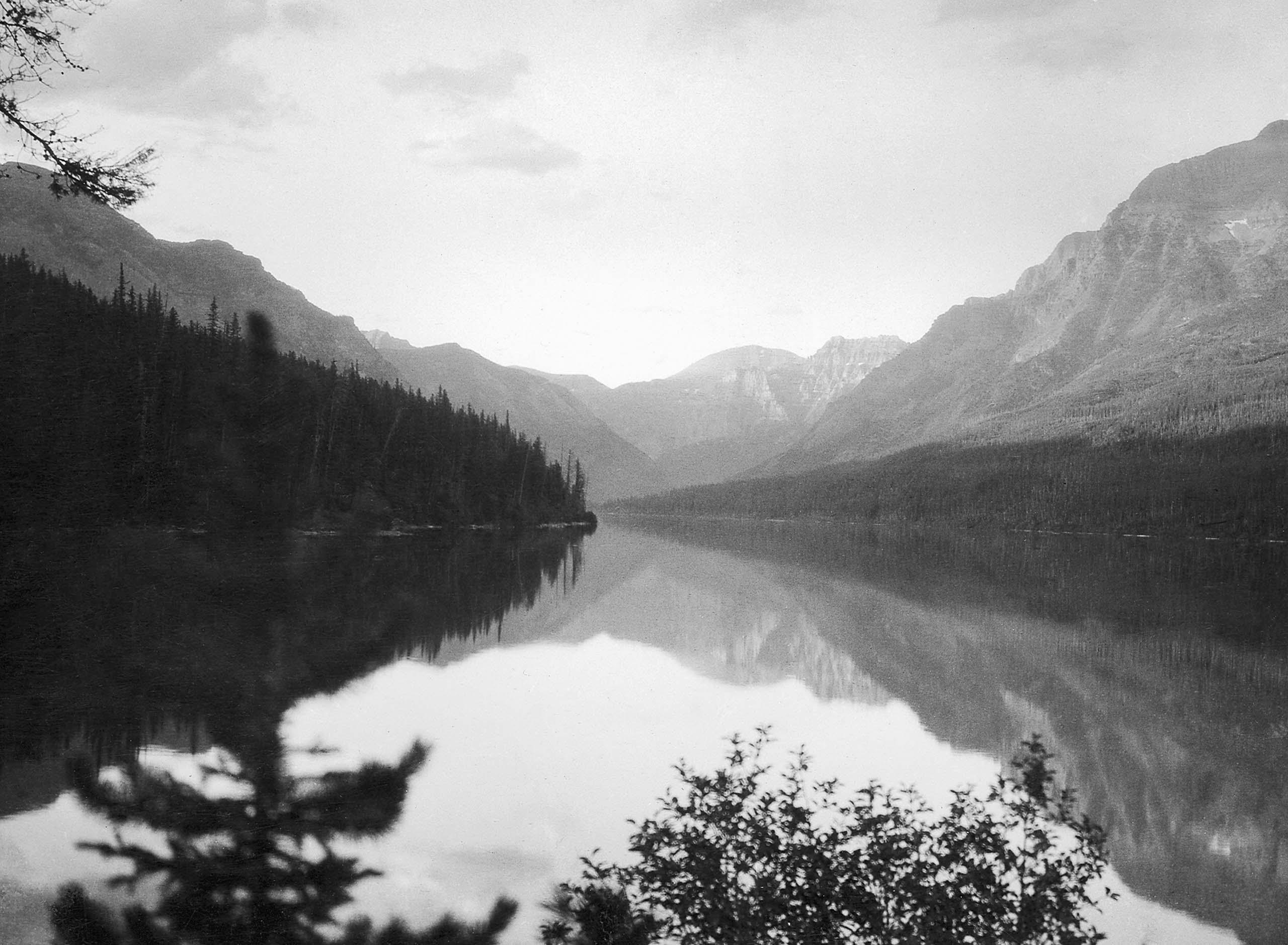 Bowman Lake, Flathead County, Mo., 1913.