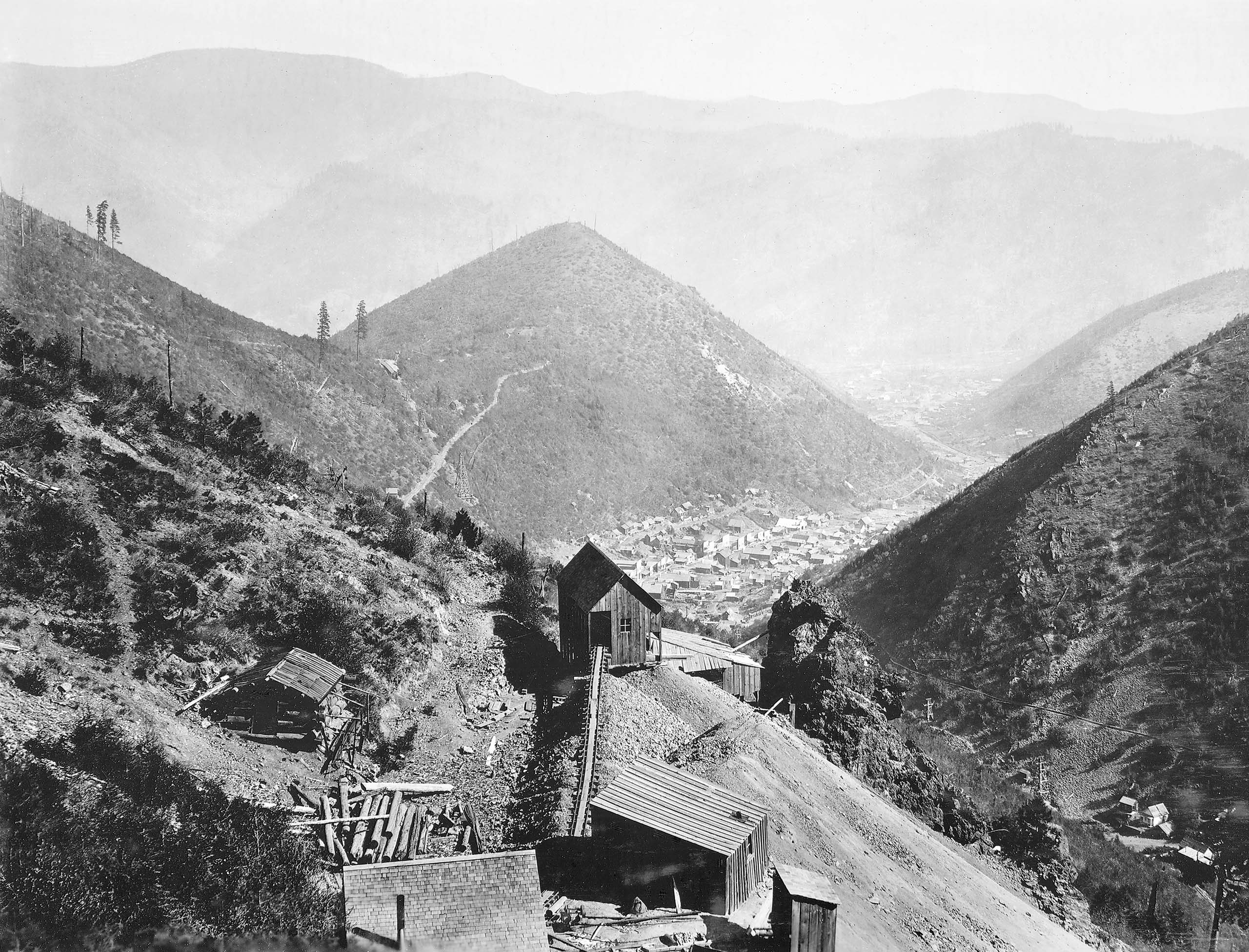 Upper Bunker Hill Mine. Shoshone County, Idaho.
