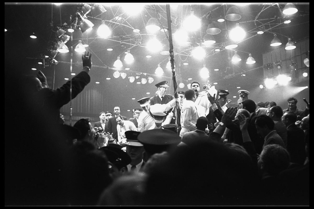 Ali and Sonny Liston in Miami, 1964